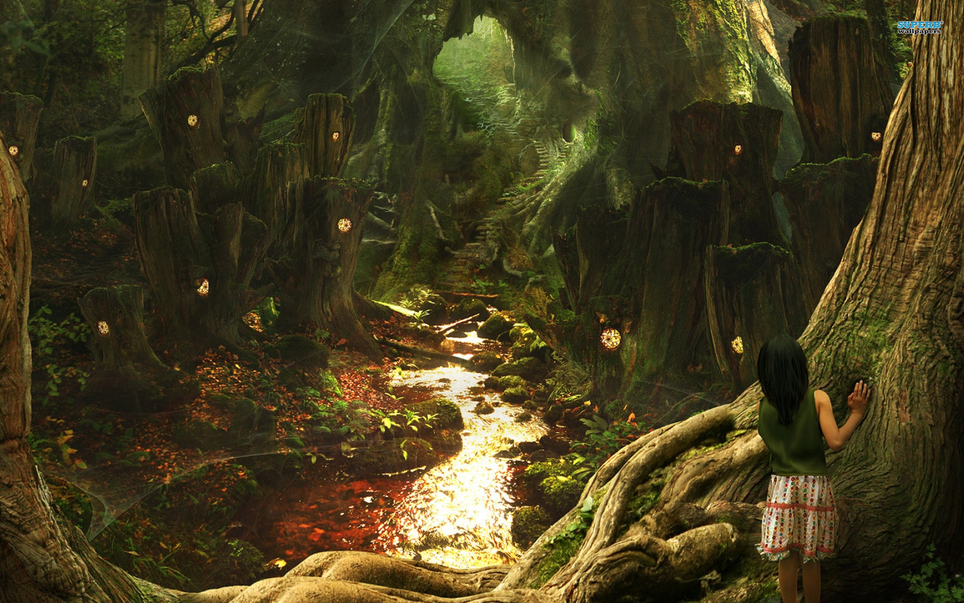 1920x1200 Explore Fantasy Forest, Magic Forest, and more! oak forest wallpaper