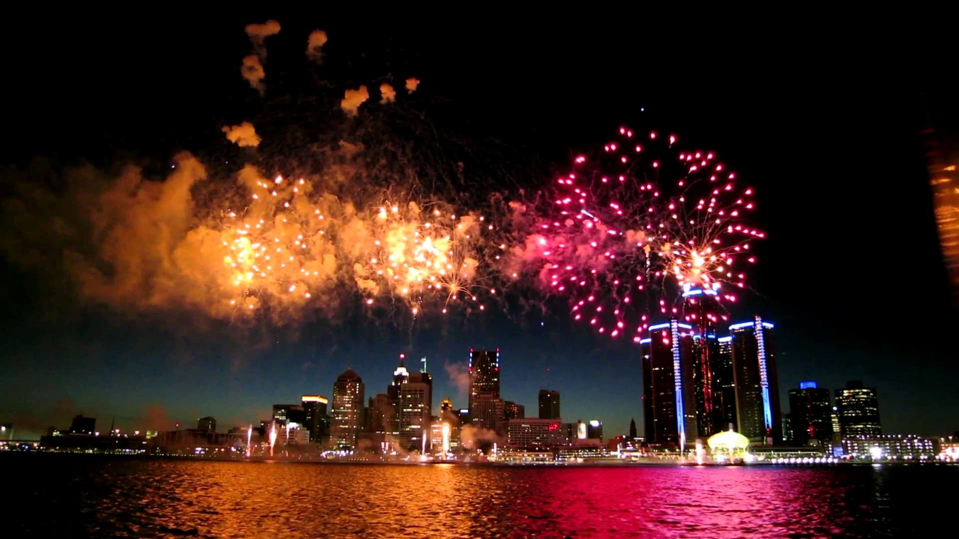 1920x1080 Where to watch 4th of July fireworks in Detroit 2016