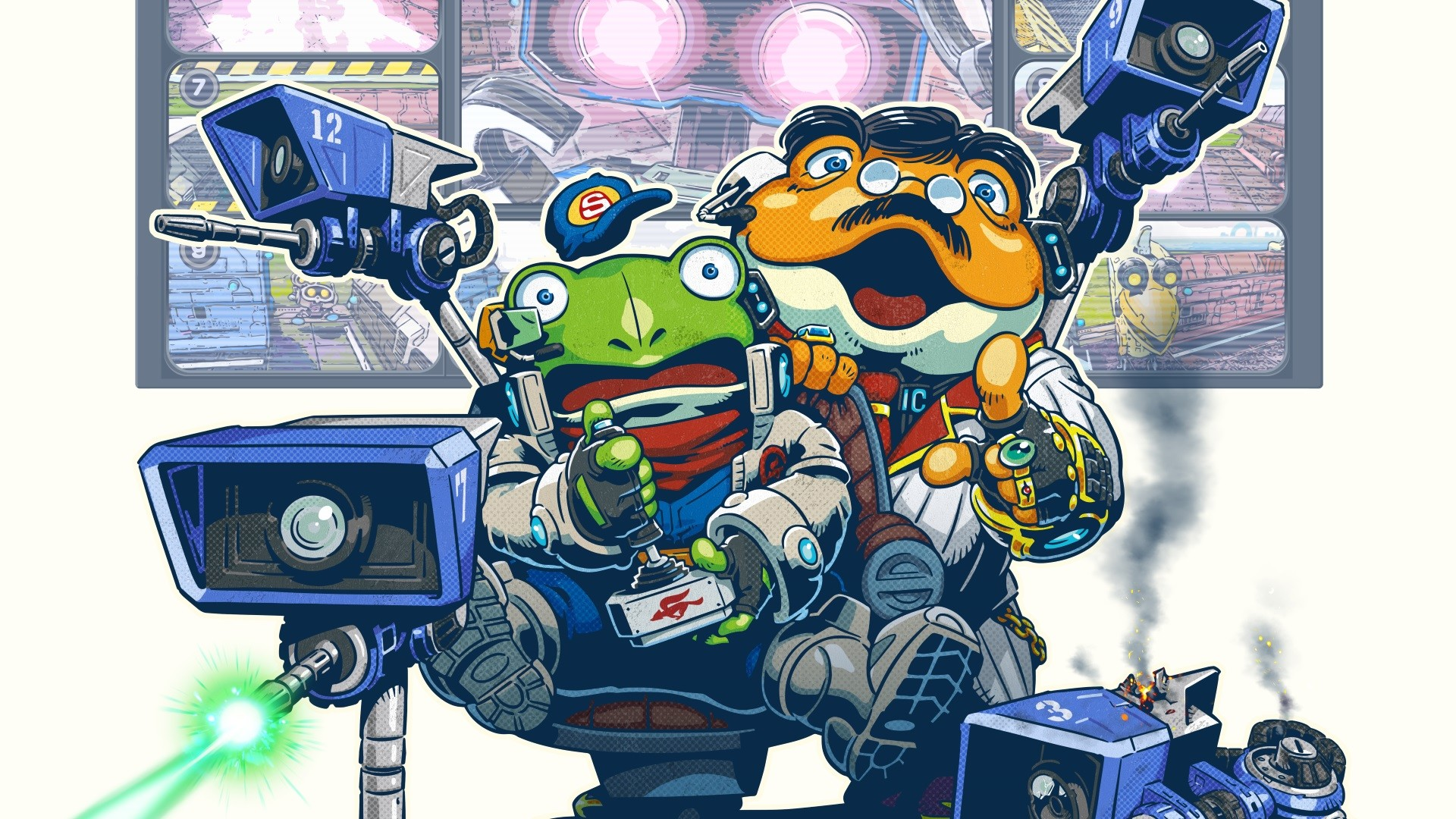 1920x1080 Star Fox Guard review - a triumph for the Wii U GamePad | Expert Reviews