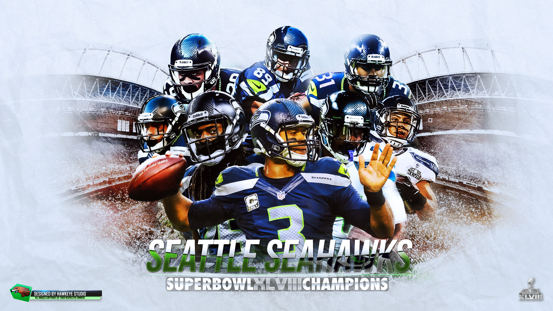 1920x1080 Seattle Seahawk Background Desktop | Wallpapers, Backgrounds, Images .