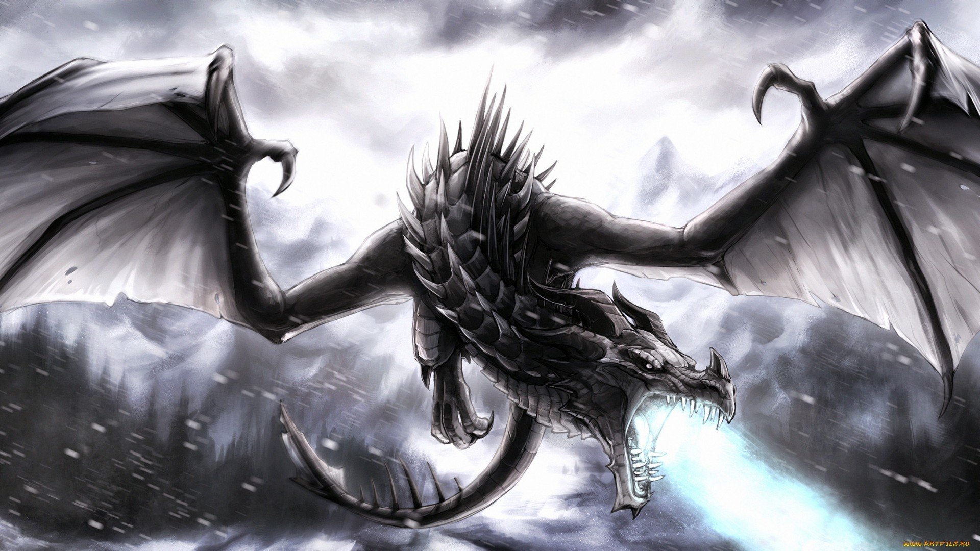 Lightning dragon wallpapers 65 images - Dragon backgrounds 1920x1080 ...