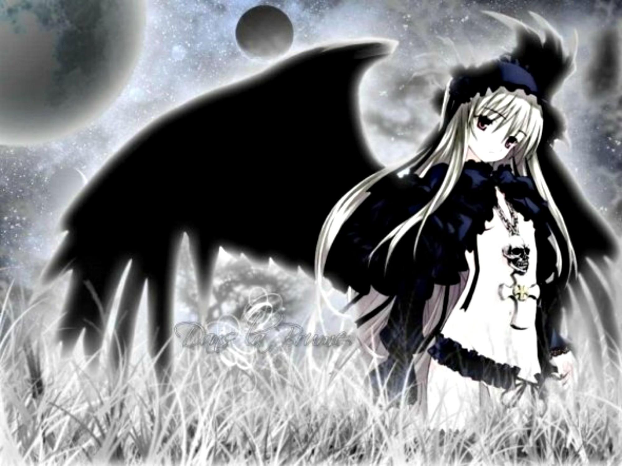 Dark anime girl wallpaper 61 images - Dark angel anime wallpaper ...