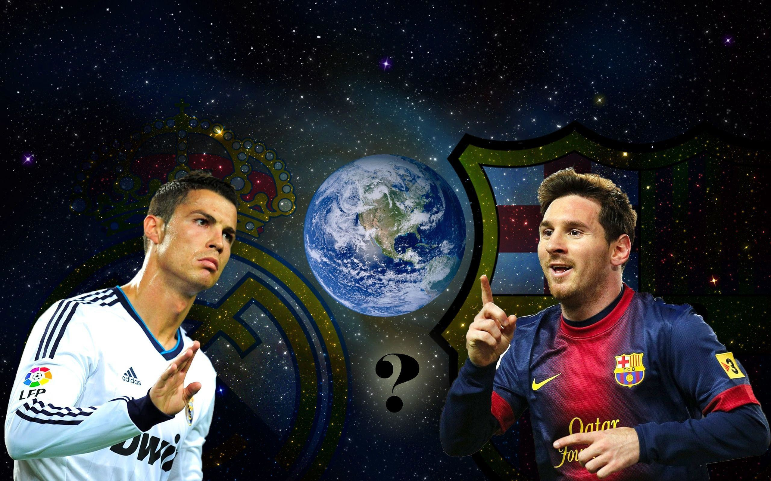 2560x1600 Ronaldo vs Messi wallpaper - Cristiano Ronaldo Wallpapers