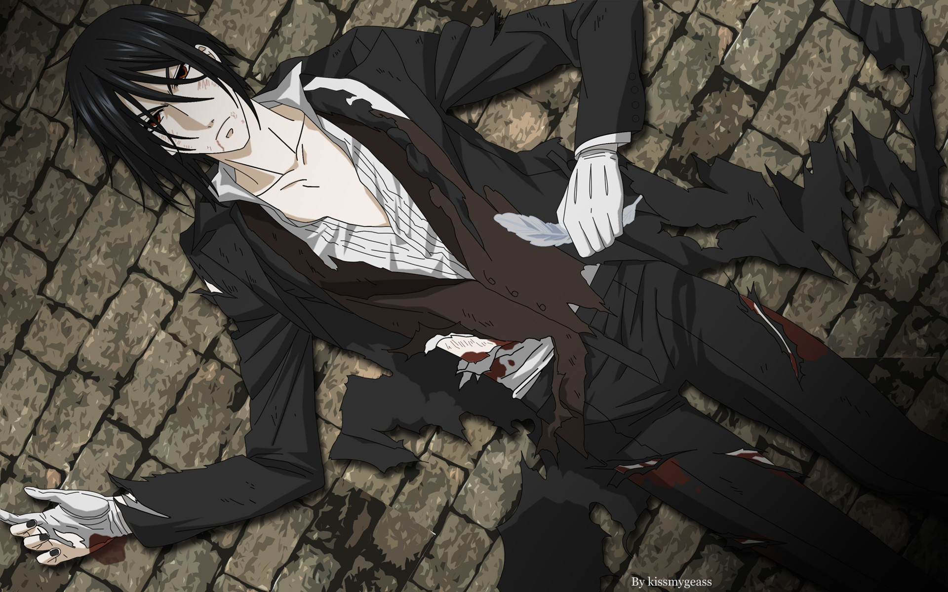 1920x1200 Black Butler Characters Images Sebastian HD Wallpaper And Background Photos