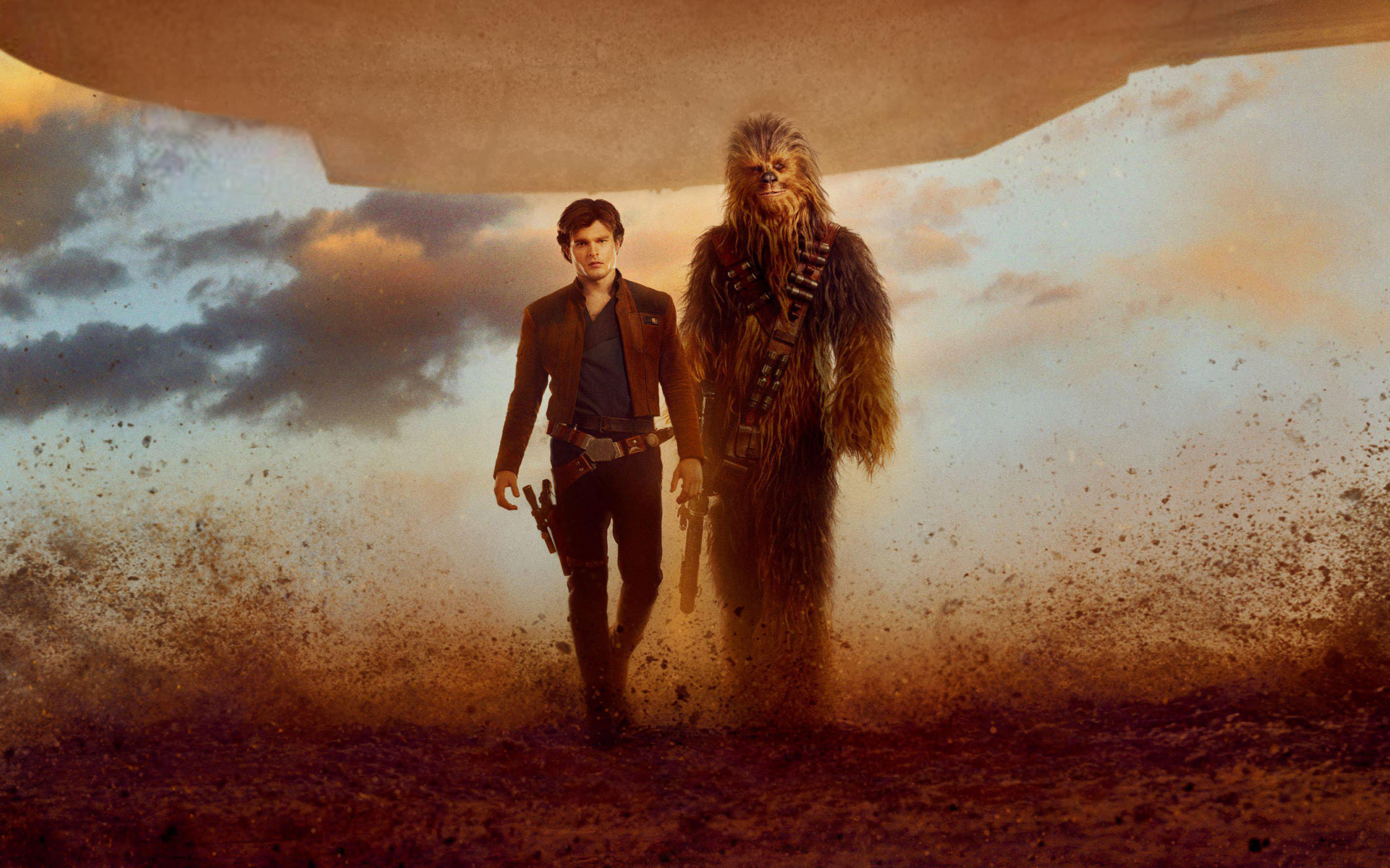 2880x1800 Solo A Star Wars Story Han Solo Chewbacca Wallpapers. Solo A Star Wars  Story Han Solo Chewbacca Wallpapers. Â«Â«