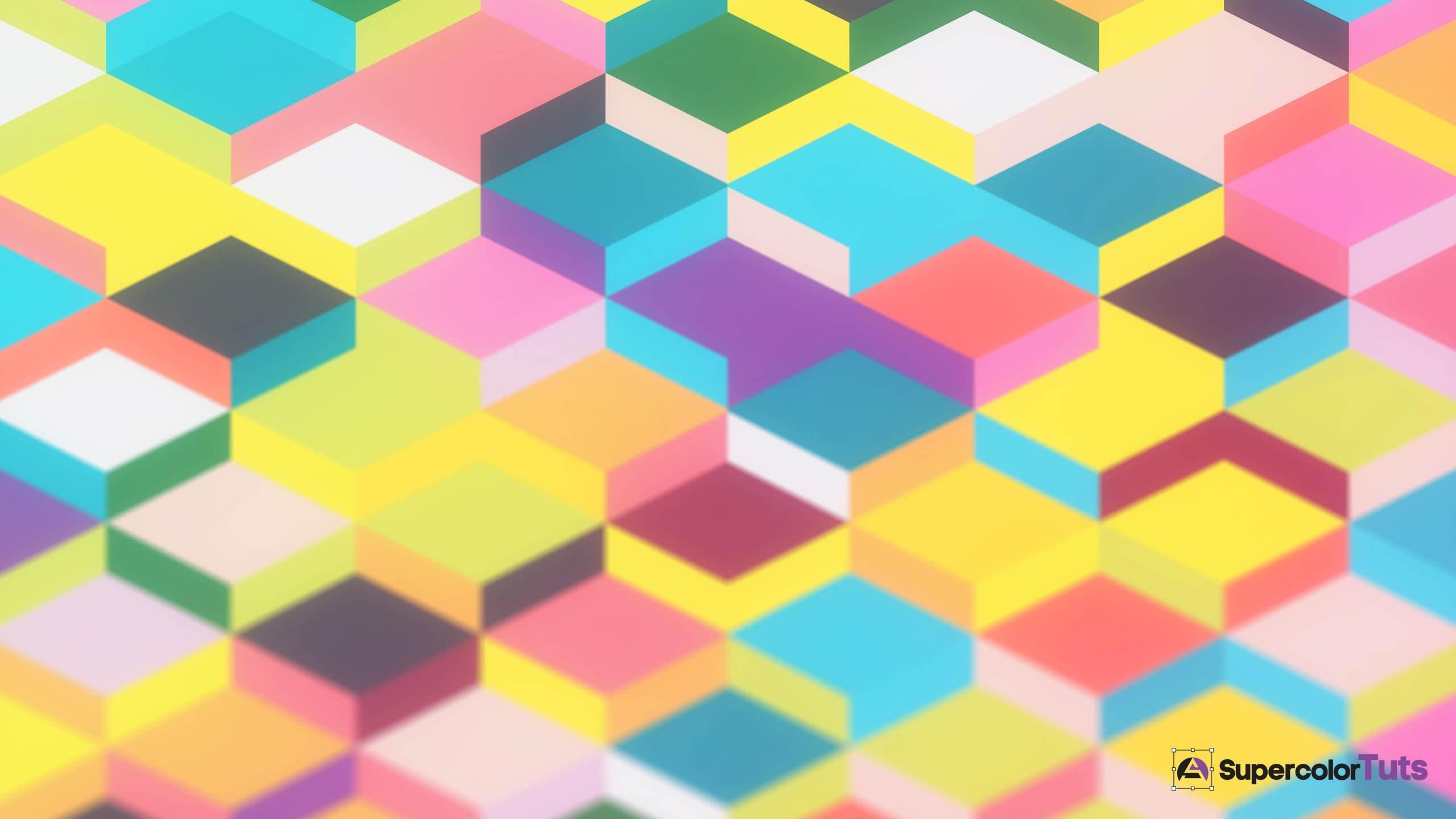 Free Colorful Geometric Wallpaper: Geometric Shapes Wallpaper (68+ Images