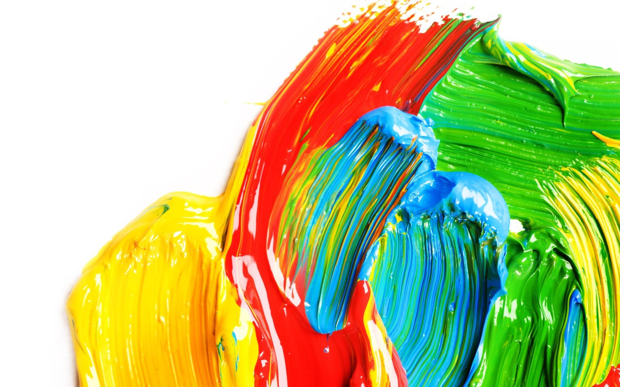 Paint Rainbow Girl Wallpapers: Bright Colorful Wallpaper (59+ Images