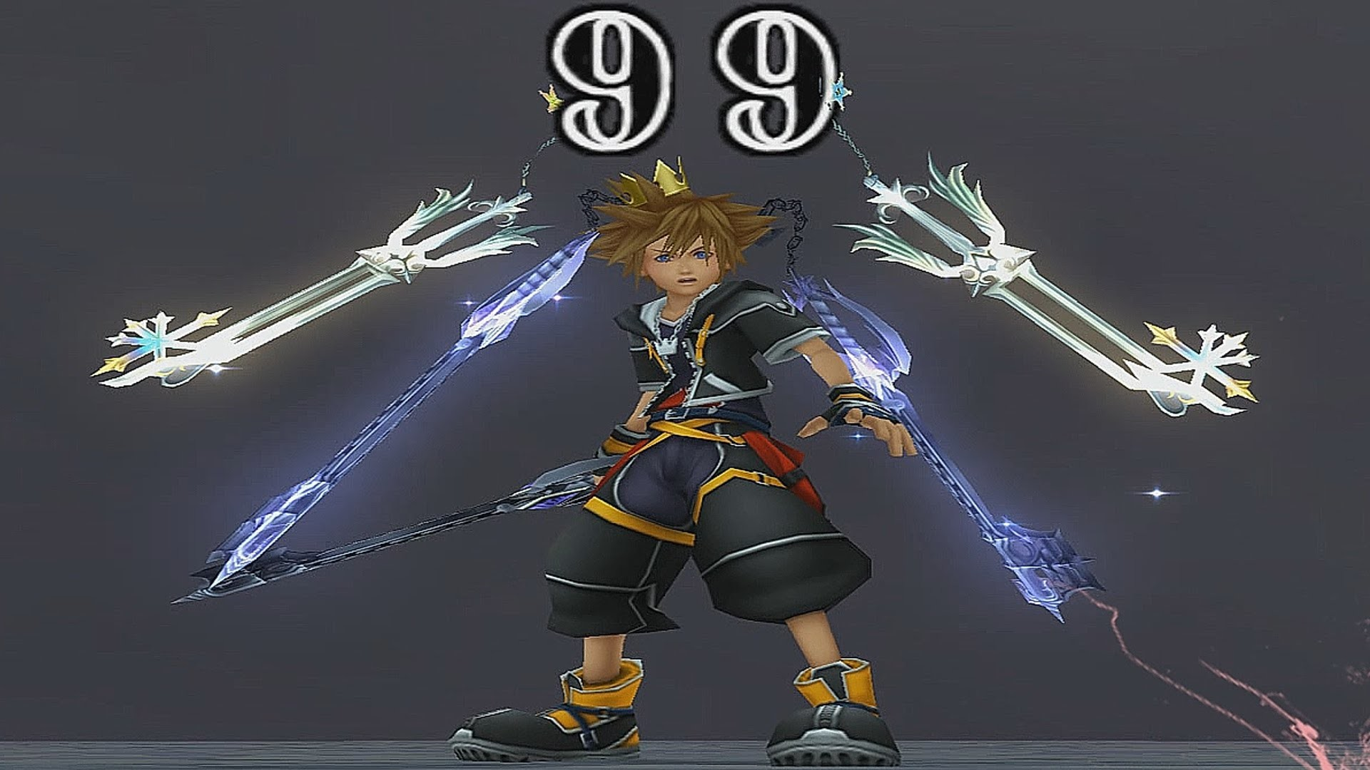 1920x1080 Kingdom Hearts II: Final Mix - Roxas Keyblades x2 (6 Keyblades) - YouTube