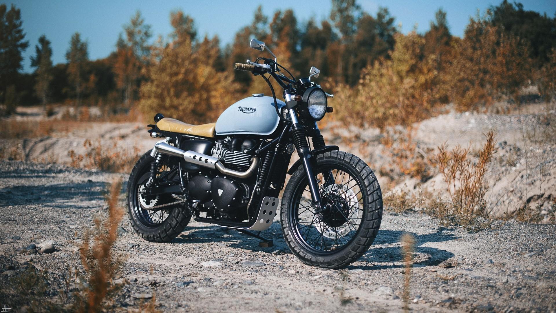 Blue Modified Bike Hd Wallpaper: Bobber Motorcycle Wallpaper (62+ Images