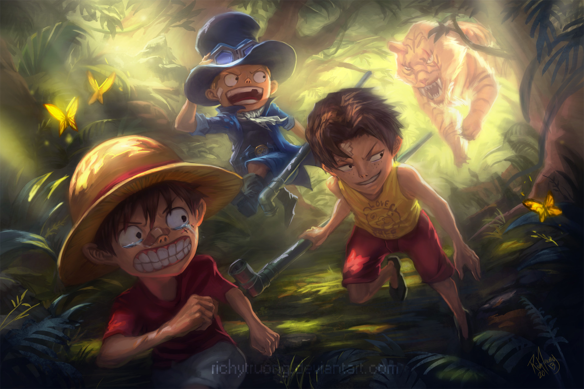 1920x1280 HD Wallpaper | Background ID:595884.  Anime One Piece