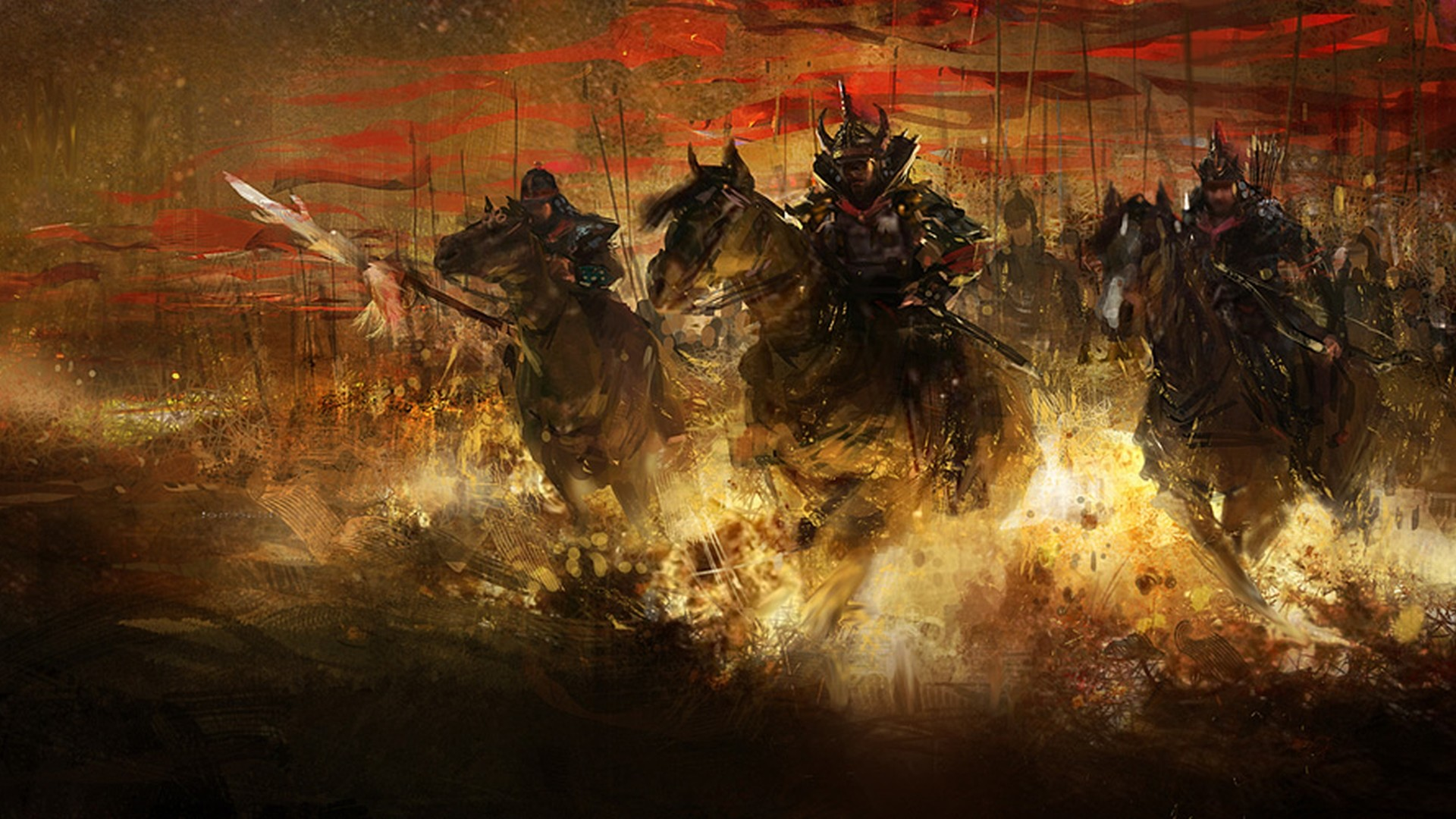 Samurai wallpaper 1920x1080 75 images - Battlefield screensaver ...