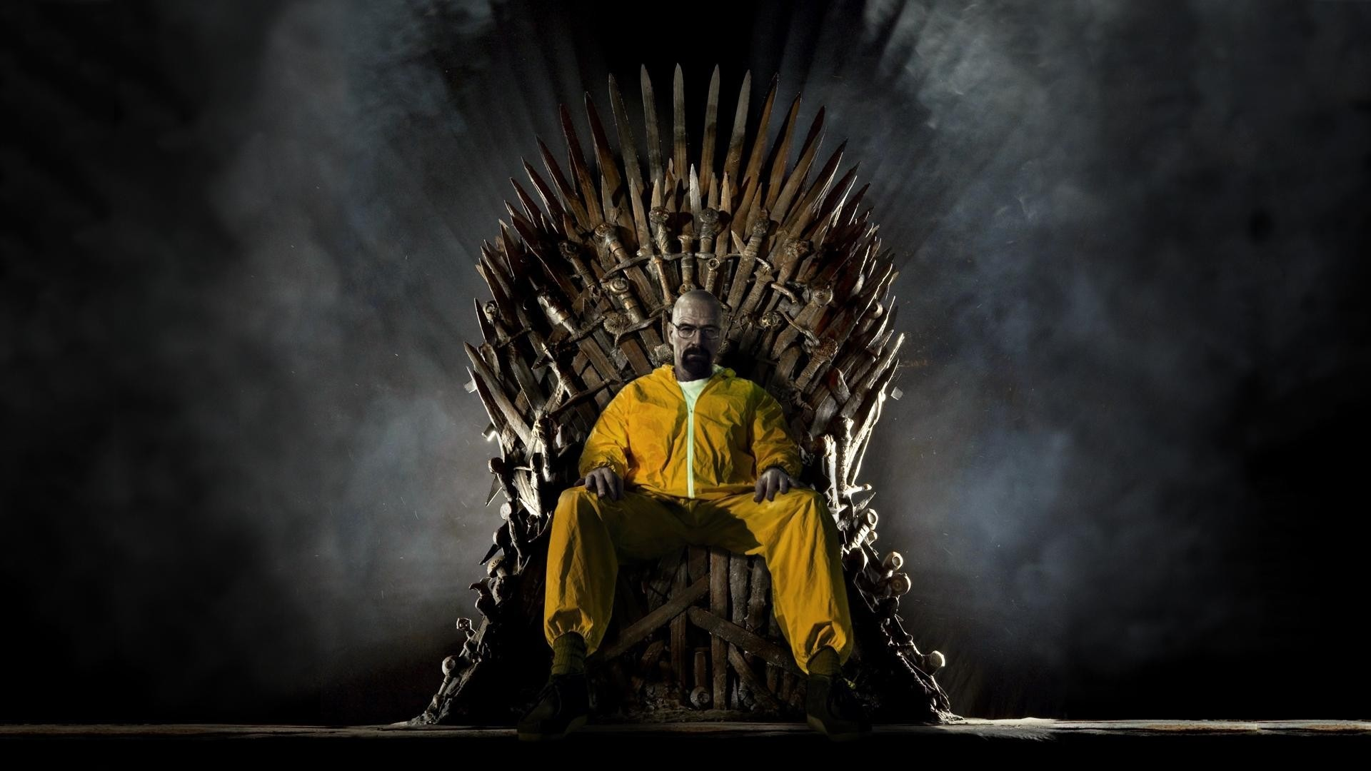 1920x1080 Walter White on the Iron Throne Wallpaper - Breaking Bad, Game of Thrones,  Song