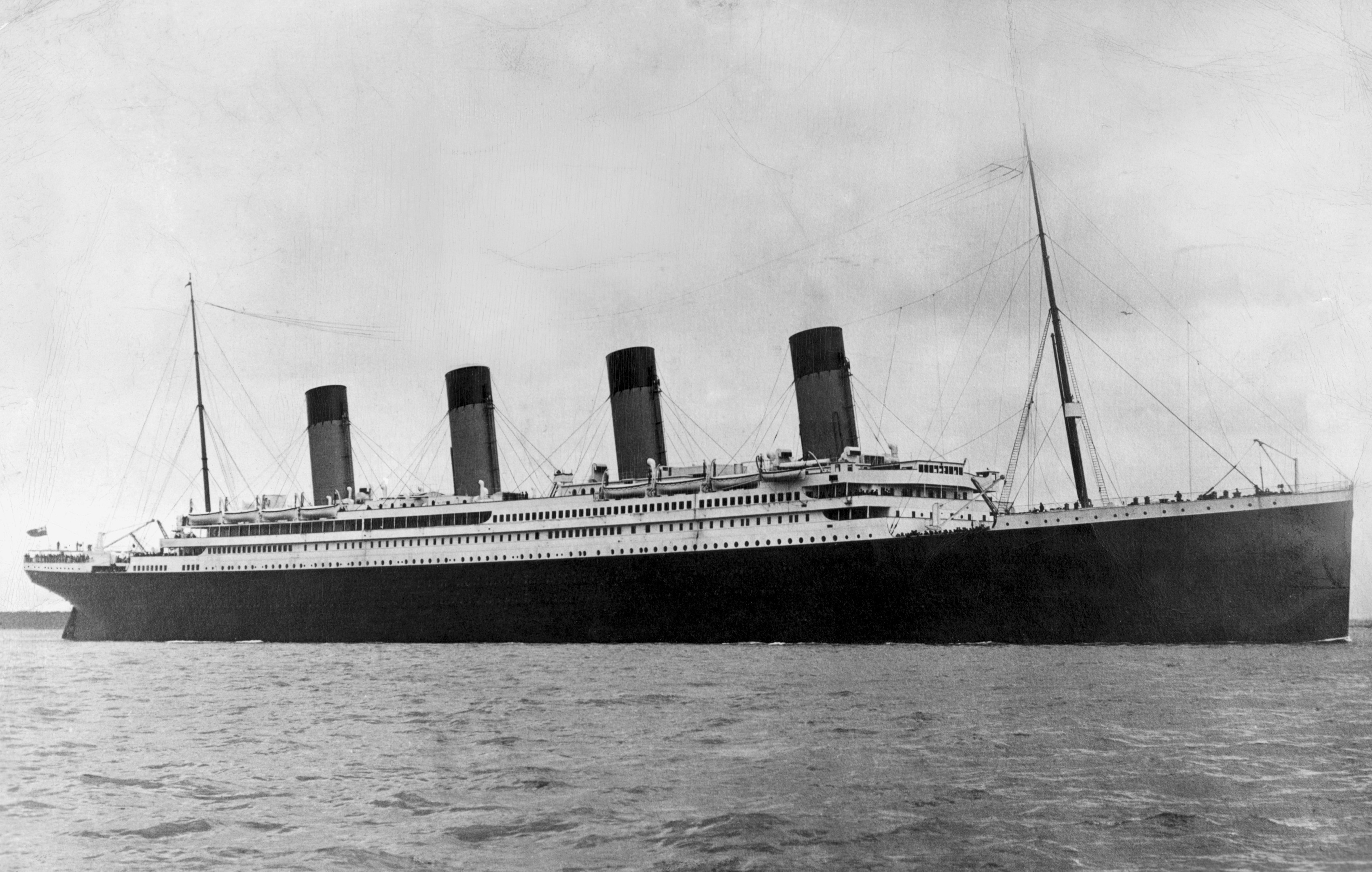 3392x2157 the titanic, 1912