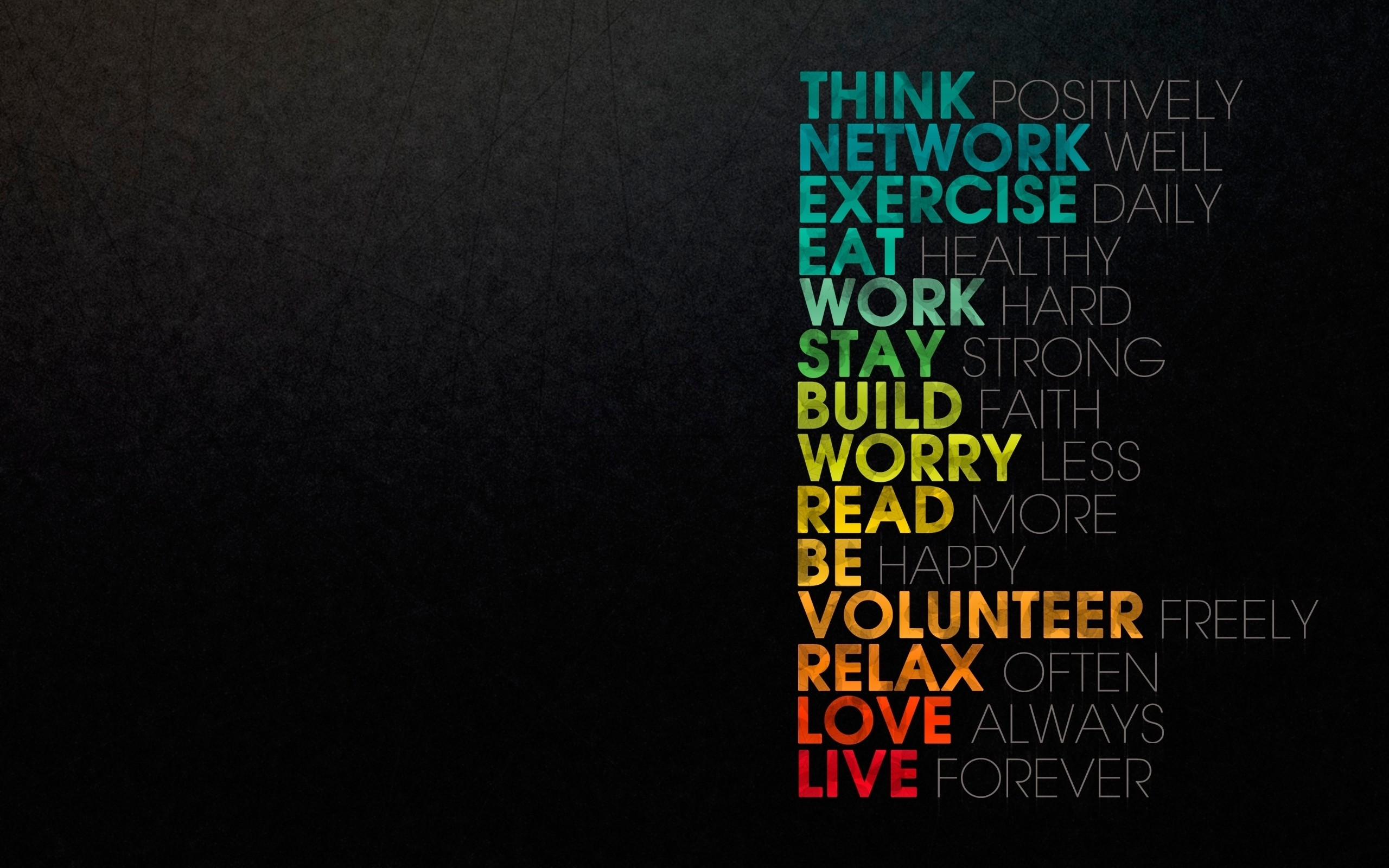2560x1600 HD Wallpaper | Background ID:251038.  Misc Motivational