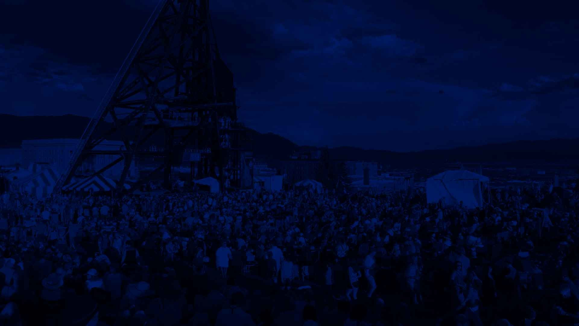 1920x1080 Image of Montana Folk Festival Midnight Blue Background