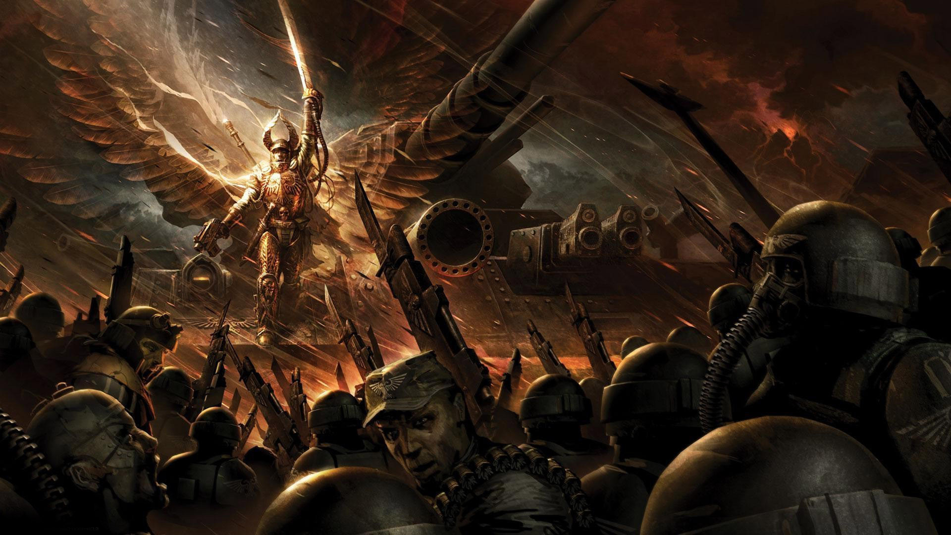 1920x1080 Imperial Guard - Warhammer 40,000 wallpaper #14774