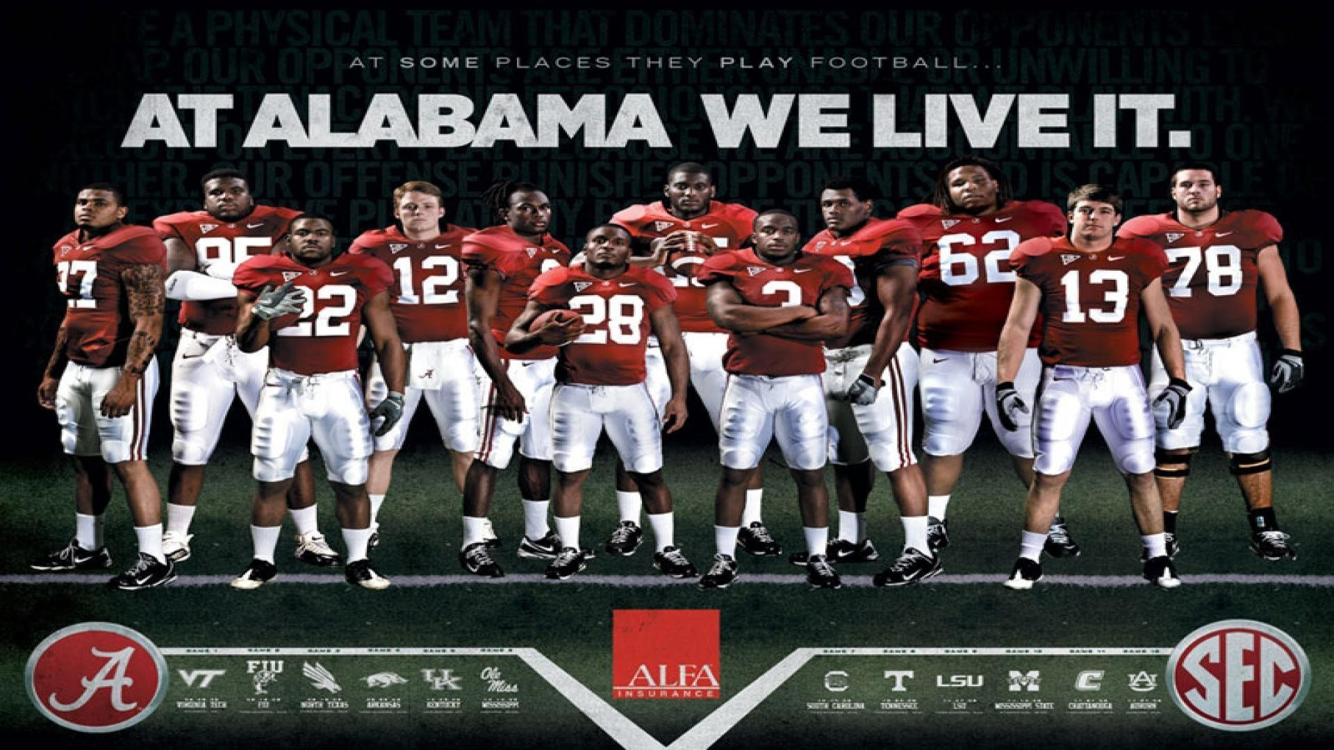 1920x1080  Free Alabama Crimson Tide Wallpapers - Wallpaper Cave
