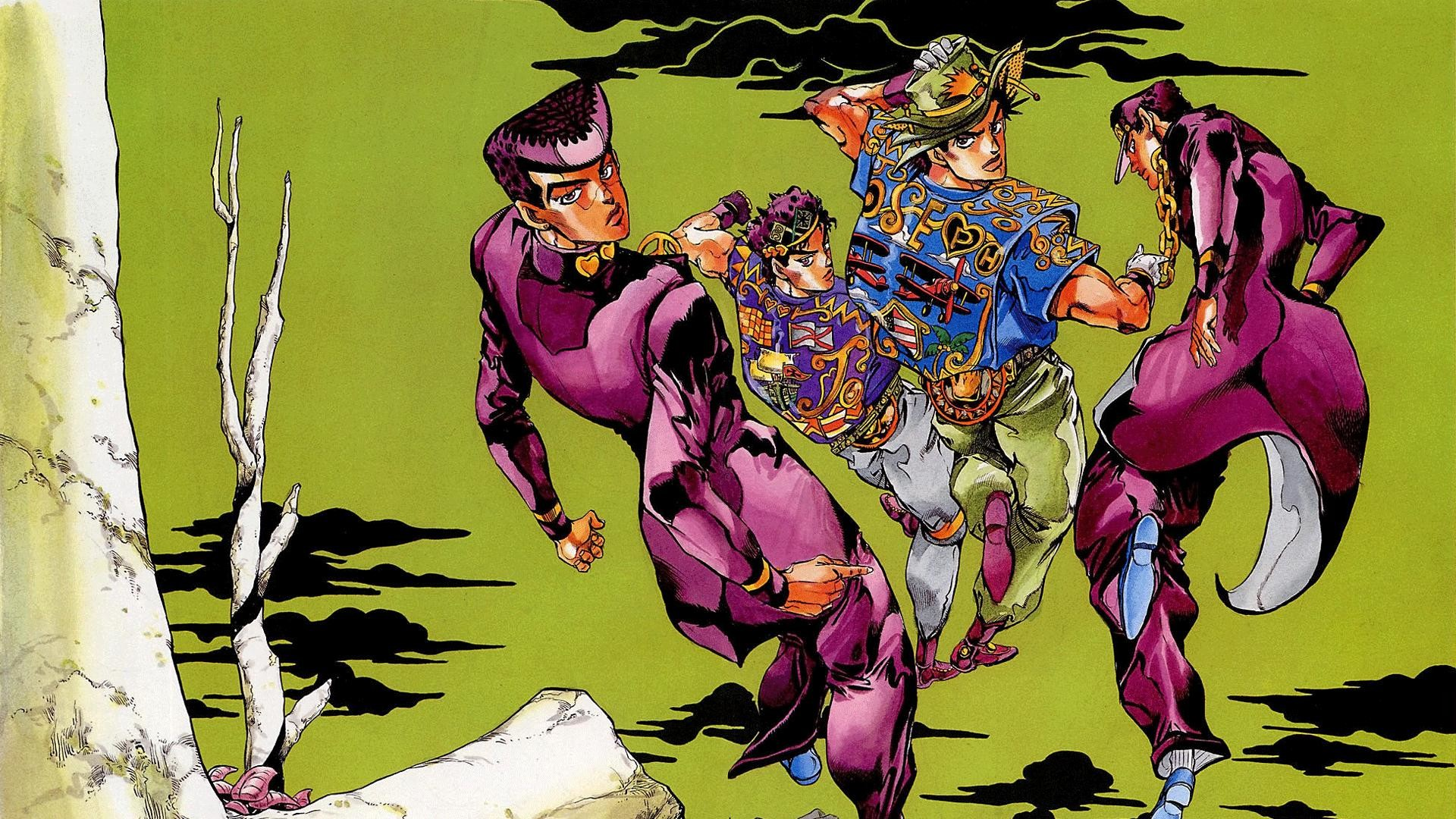 Jojo Bizarre Adventure Wallpaper (82+ images)