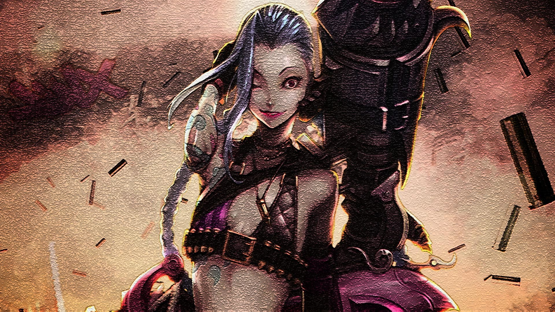 1920x1080 142 Jinx (League Of Legends) HD Wallpapers | Backgrounds - Wallpaper Abyss  - Page 4