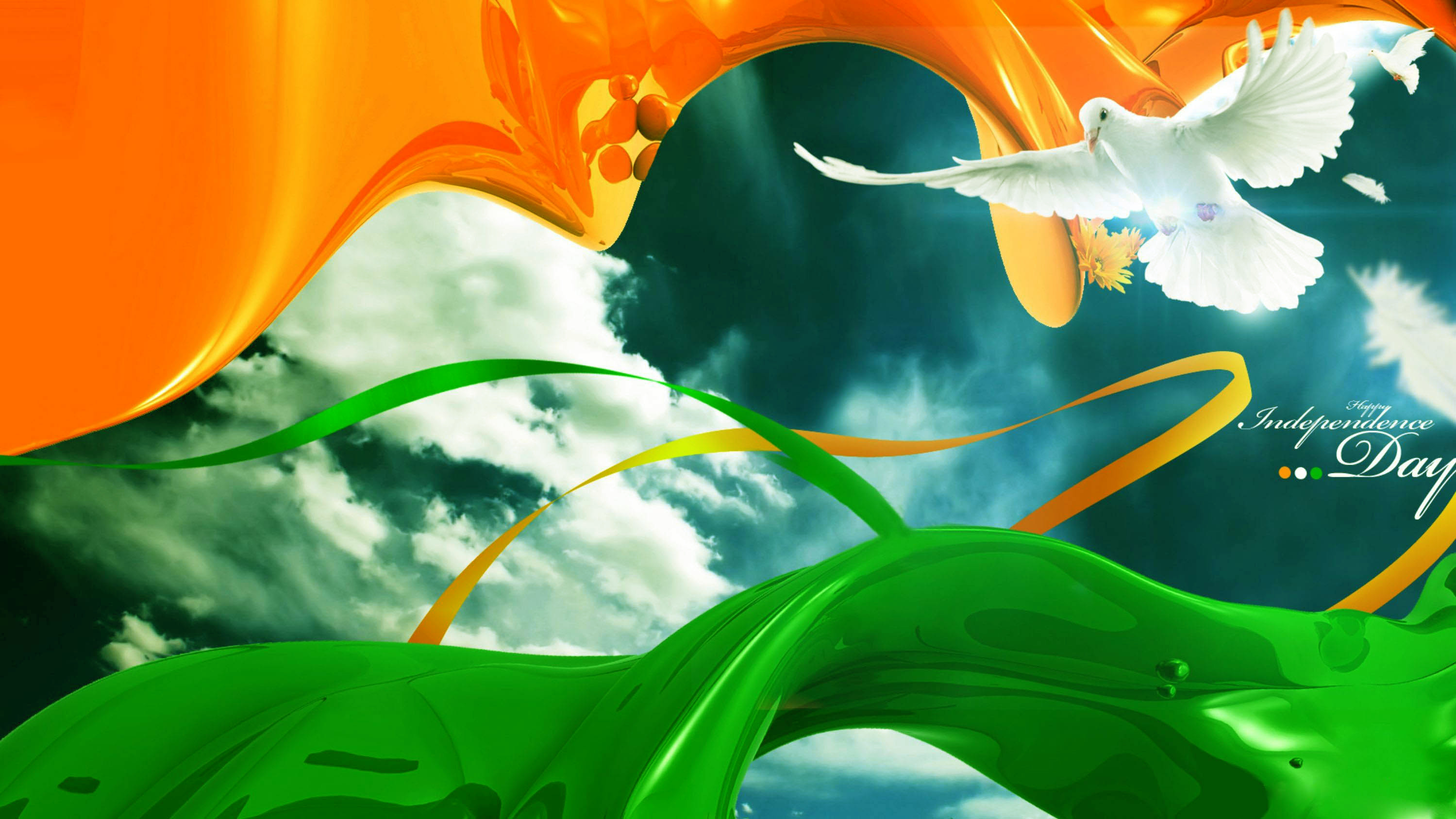 2999x1687 Happy Indian Independence Day 2014 Wishes Greetings HD Background,Desktop  Wallpapers,Photos,Pictures