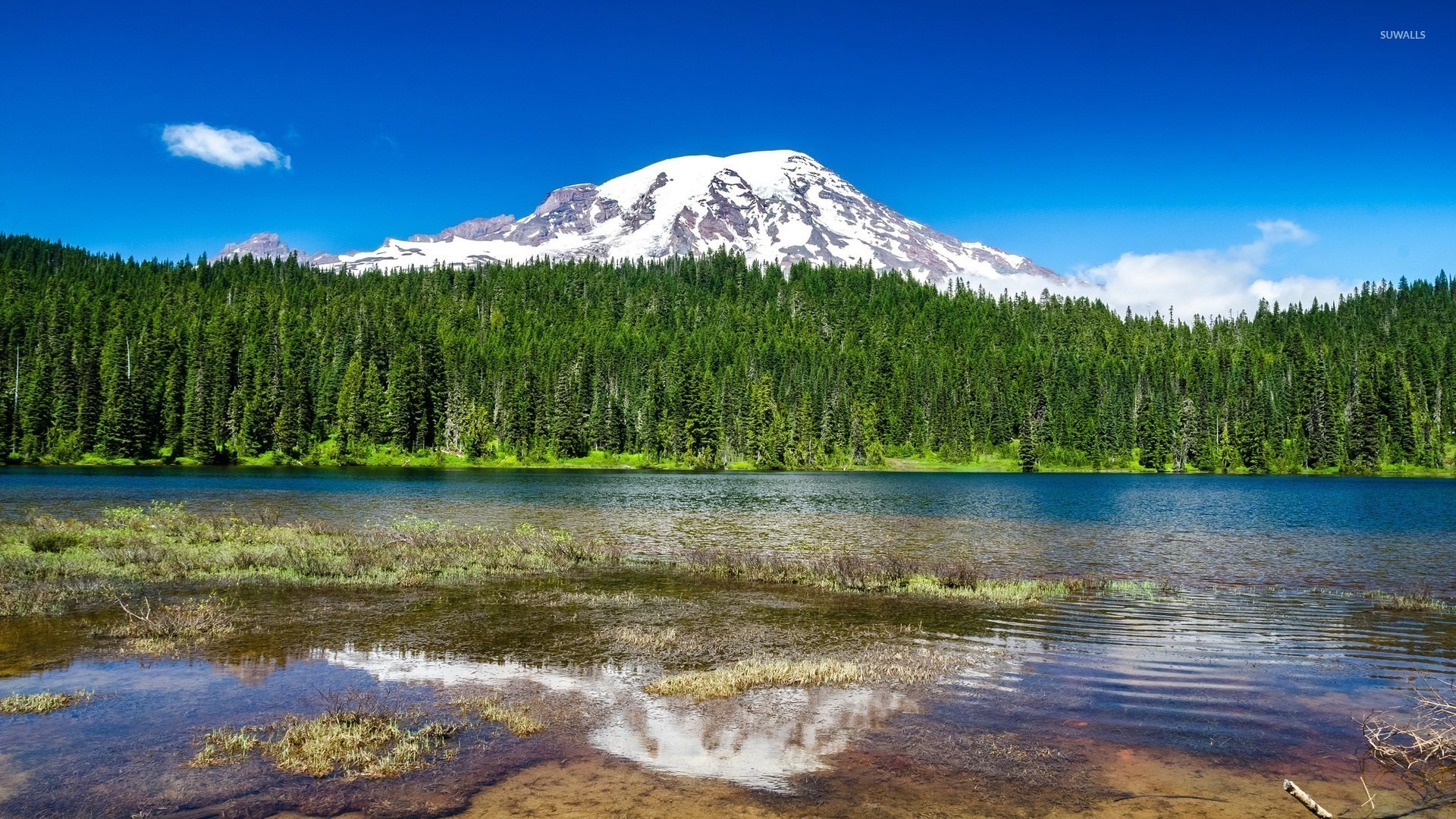 1920x1080 Mount Rainier wallpaper