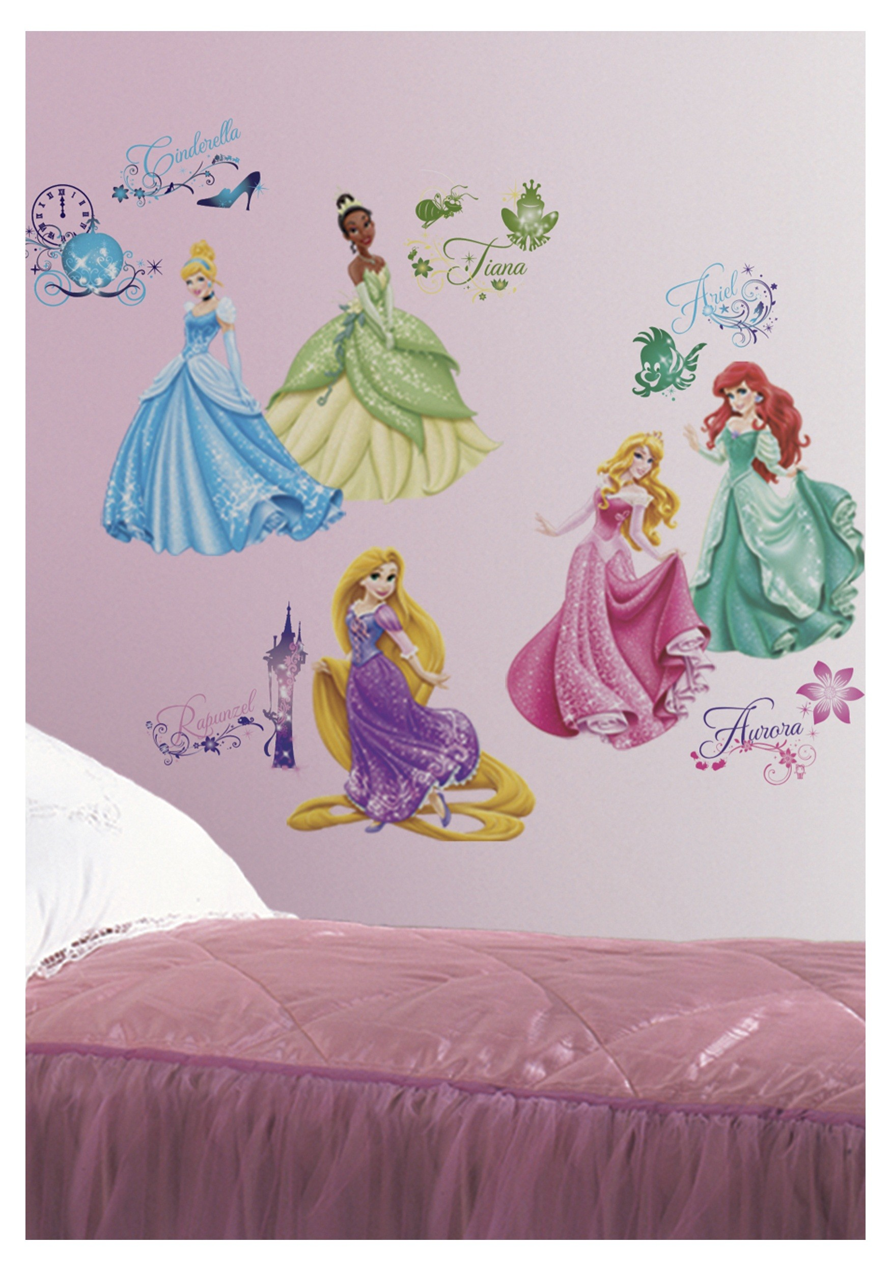 1750x2500 Disney Princess Wall Decals