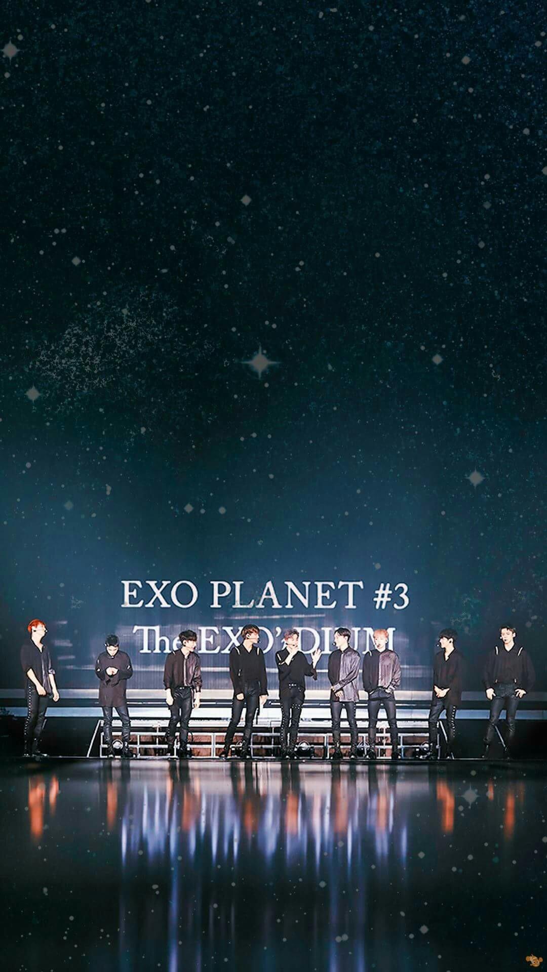 exo logo wallpaper hd iphone