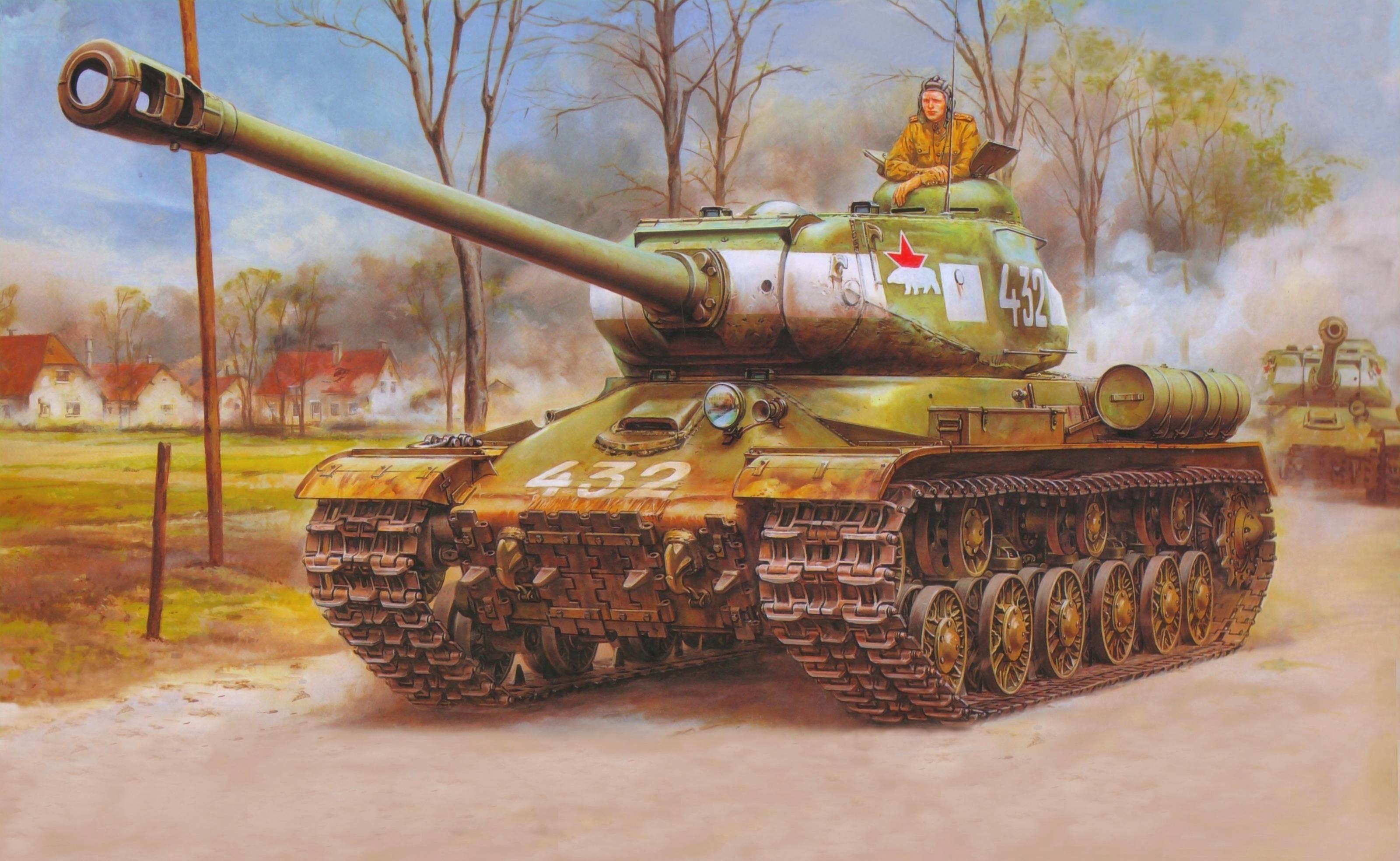3200x1967 Download wallpaper picture, heavy tank, Joseph Stalin, Red Army .