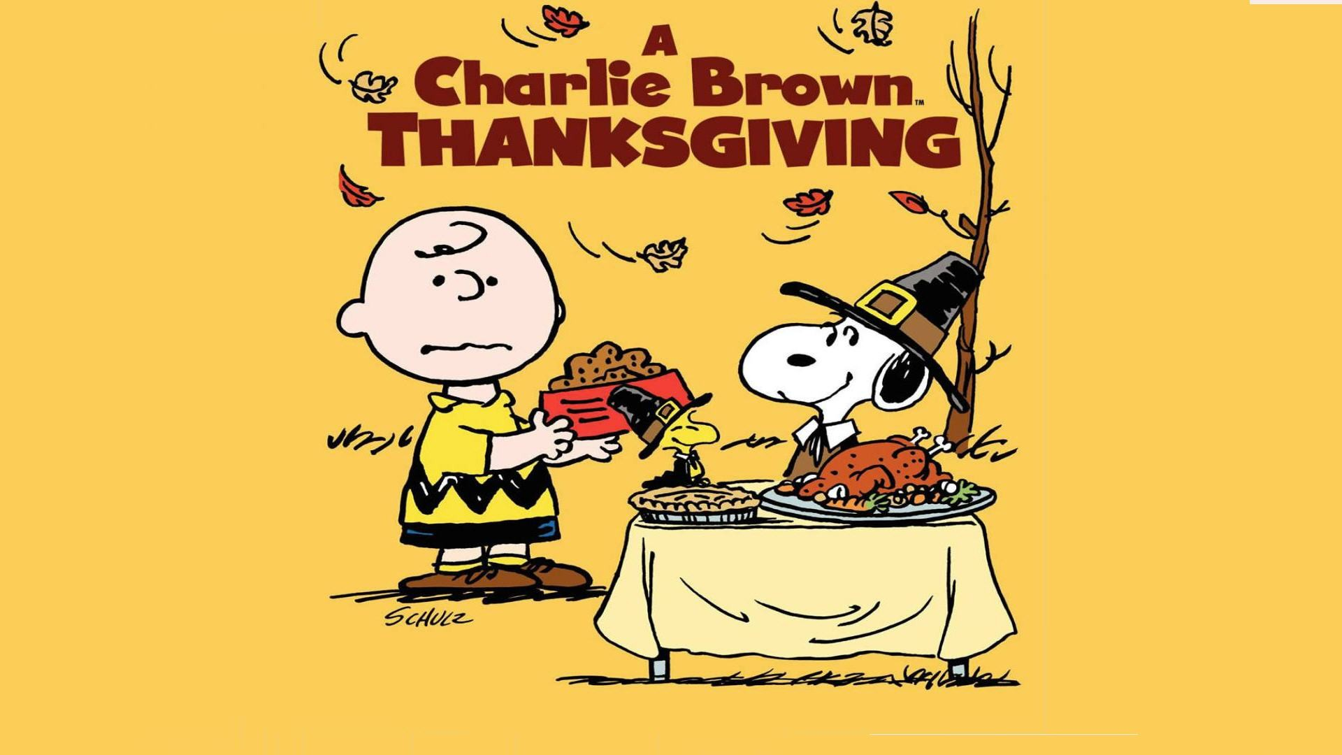 1920x1080 Charlie Brown Thanksgiving Wallpaper