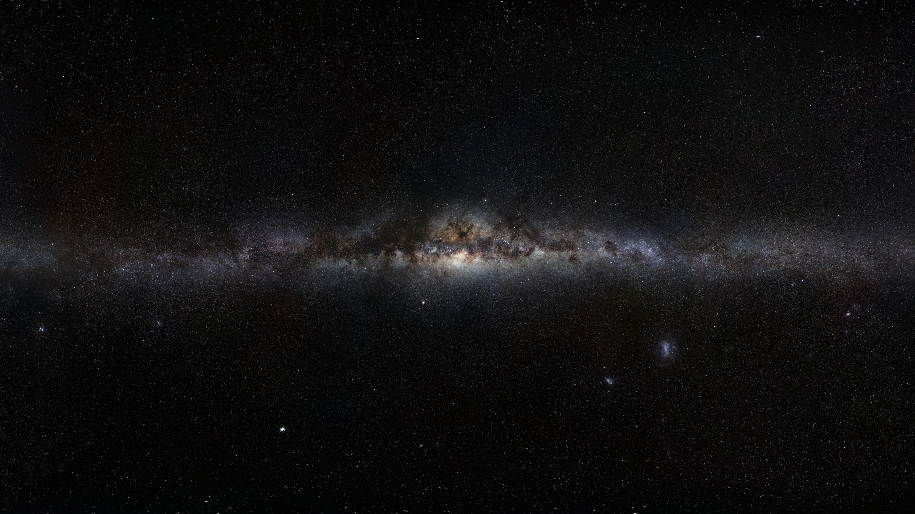 3840x2160 Black Galaxy Wallpapers HD