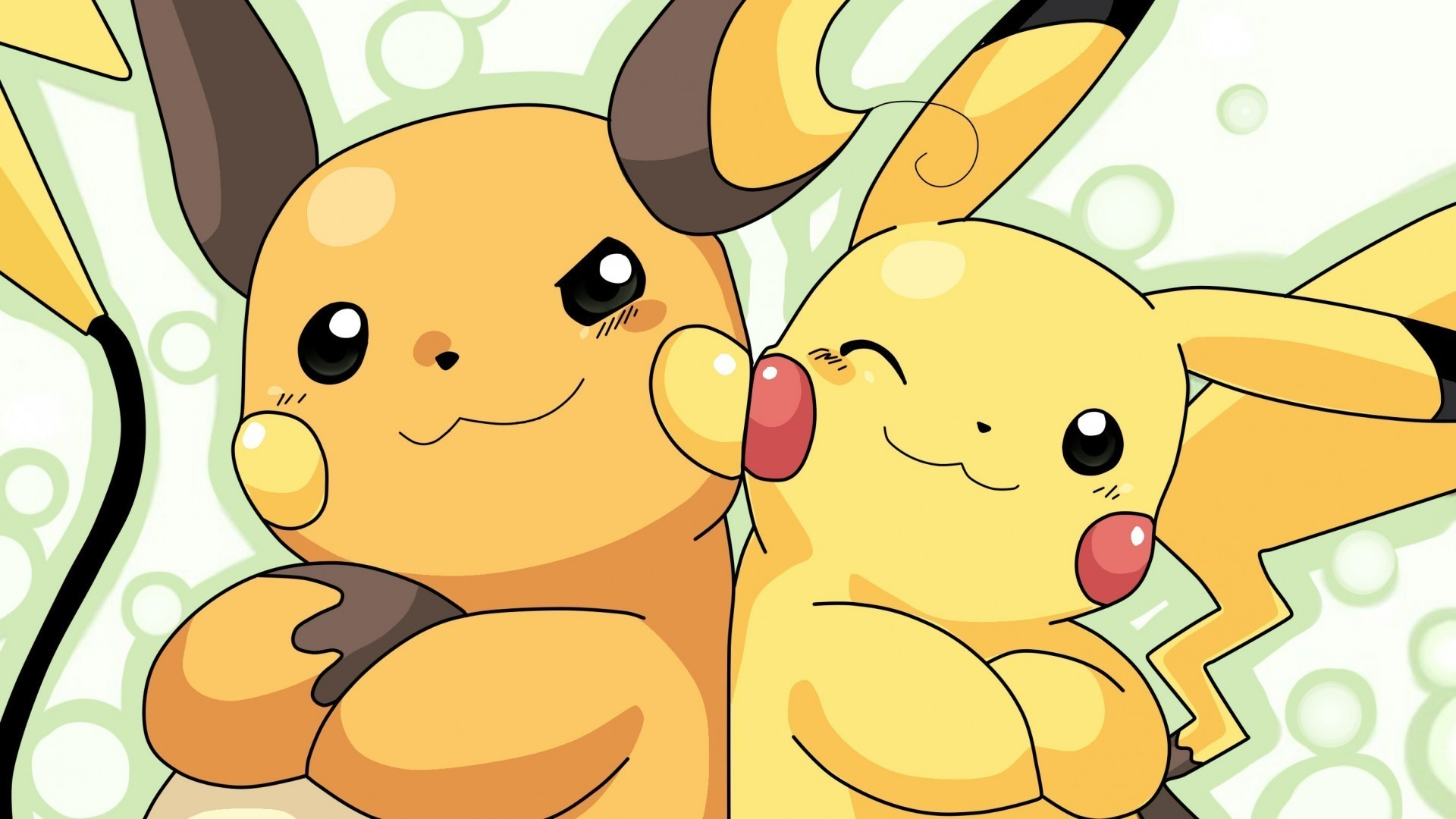 1920x1080 Pokemon Raichu HD Wallpaper.