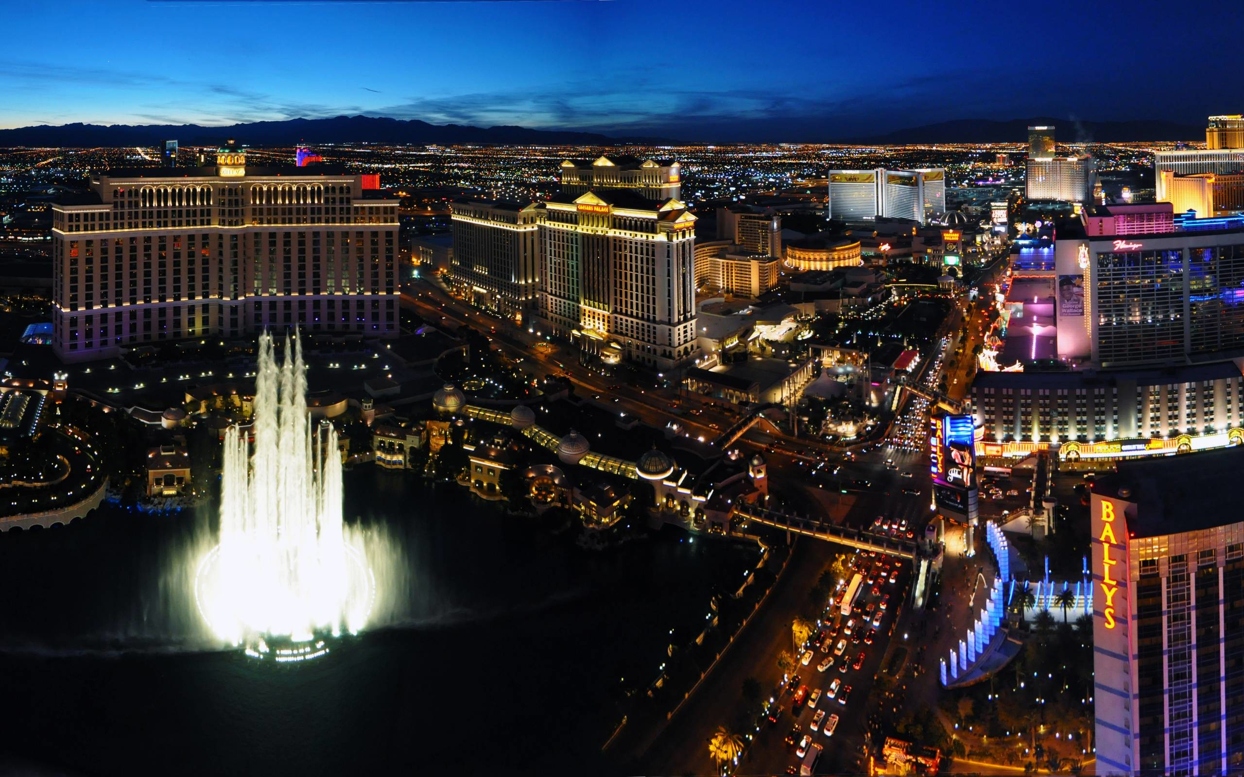 2560x1600 Las Vegas Wallpapers HD