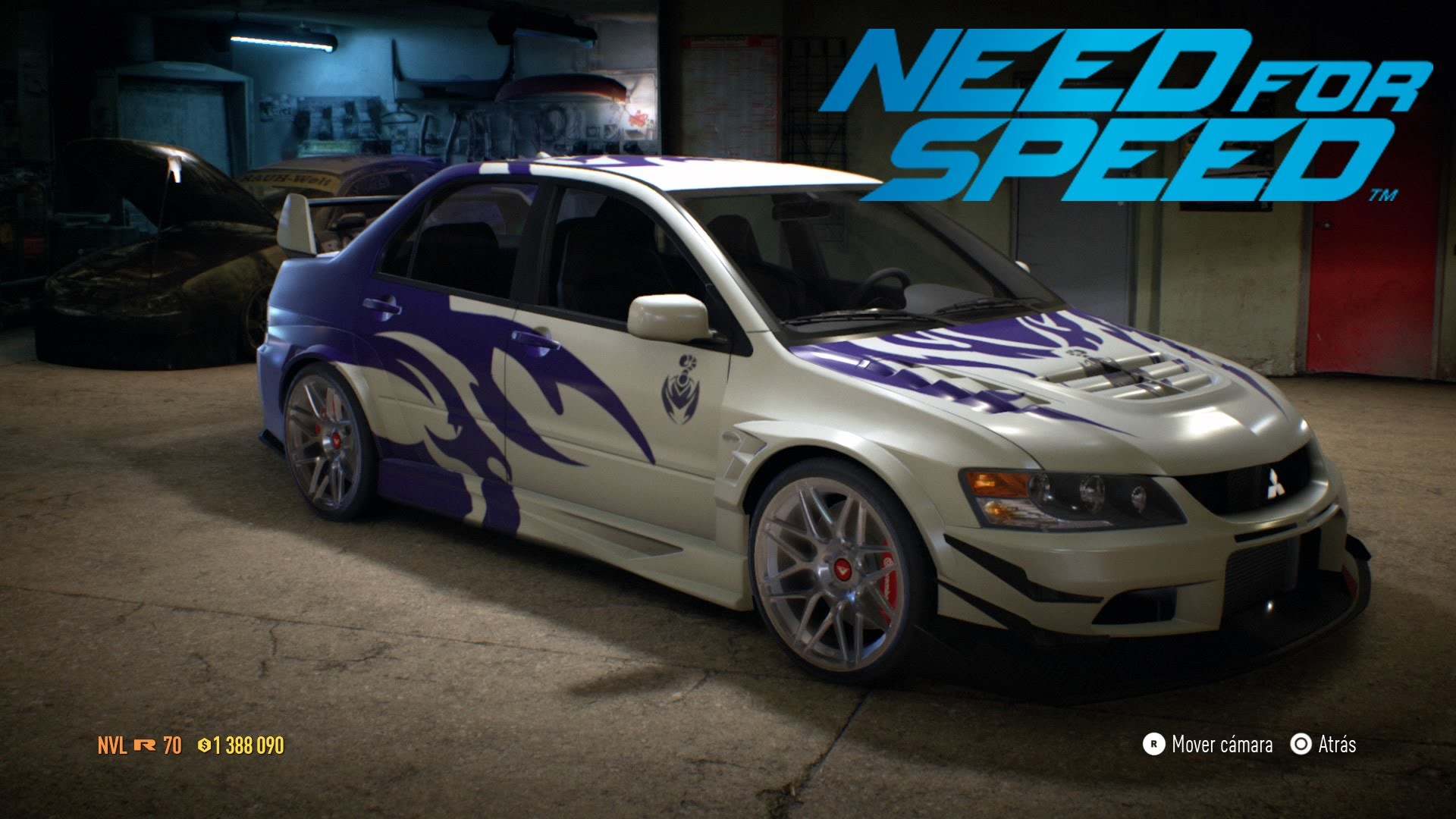1920x1080 Need For Speed - Speed Paint #5 Mitsubishi Lancer Evolution MR NFS Carbon  Scorpios - YouTube