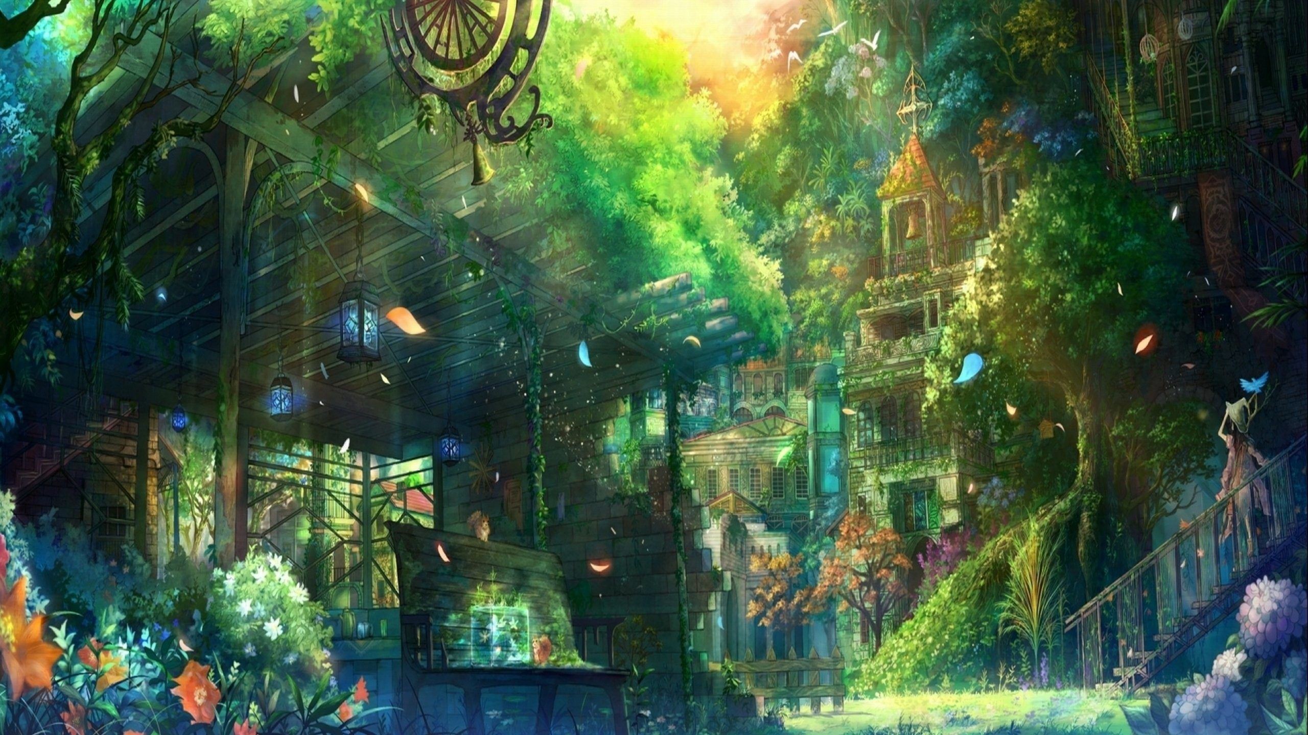 Fantasy City Wallpaper Hd: Anime Fantasy Wallpaper (74+ Images