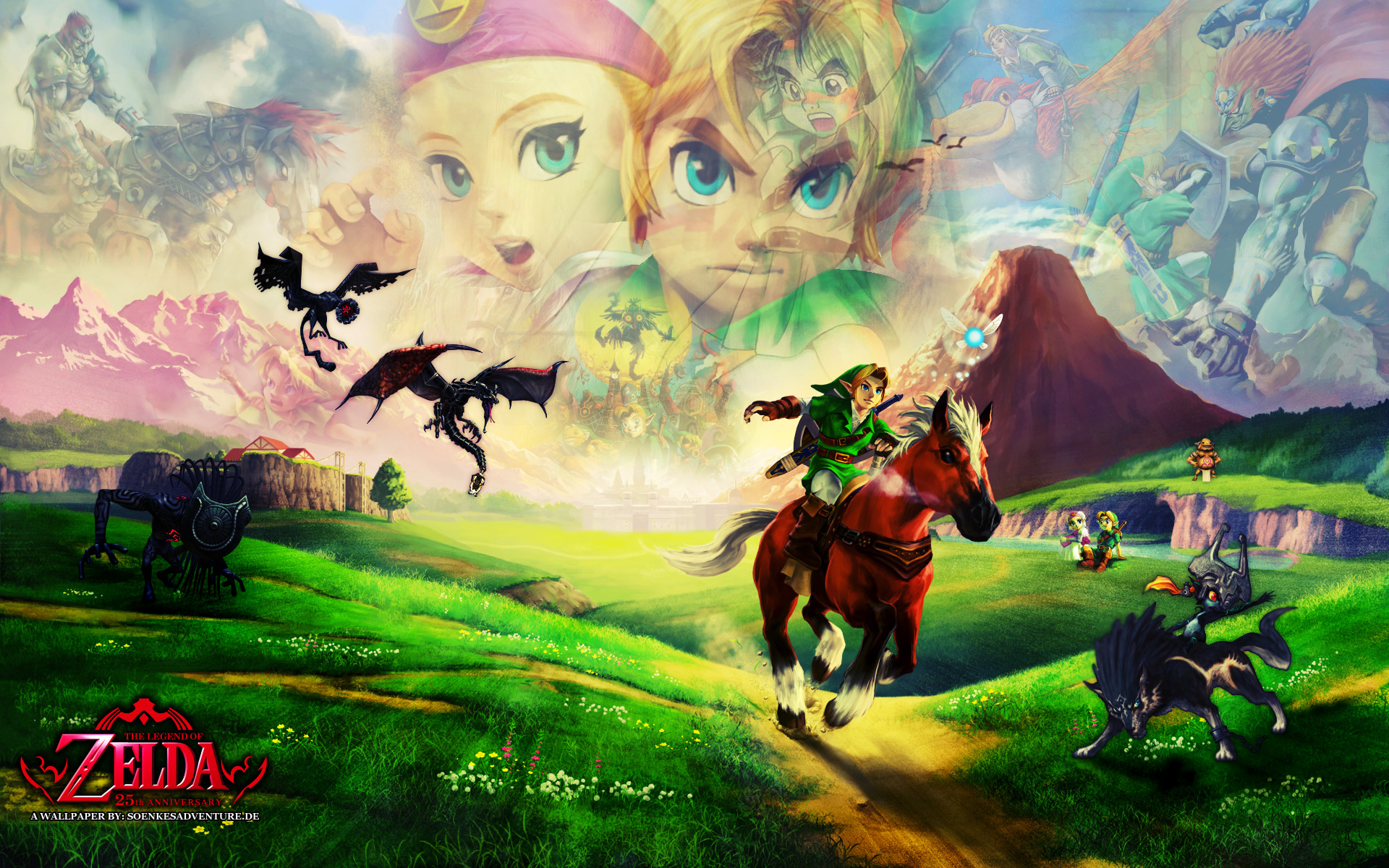 1920x1200 The Legend Of Zelda: Ocarina Of Time HD Wallpapers