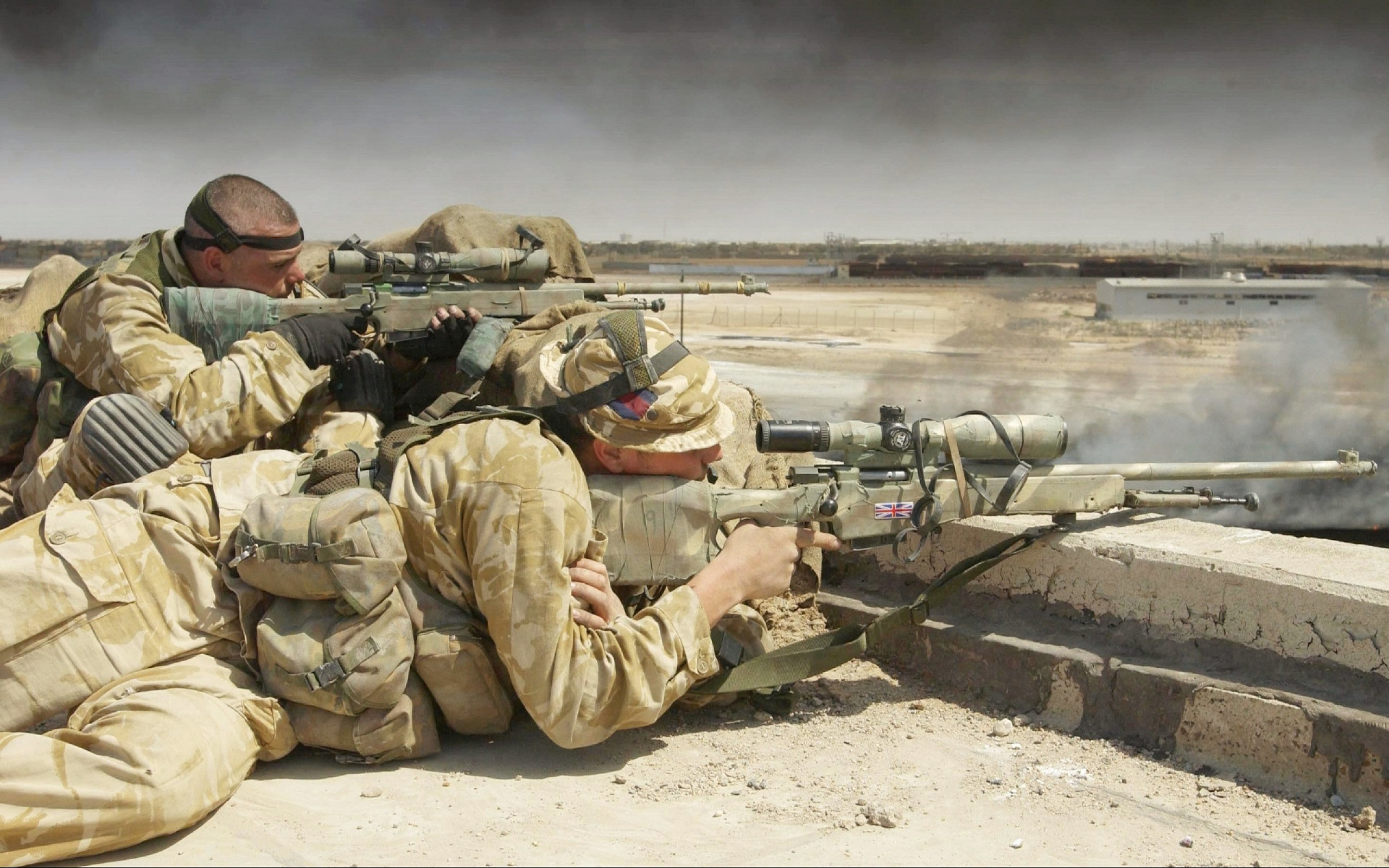 2560x1600 HD Wallpaper | Background Image ID:237974.  Military Sniper