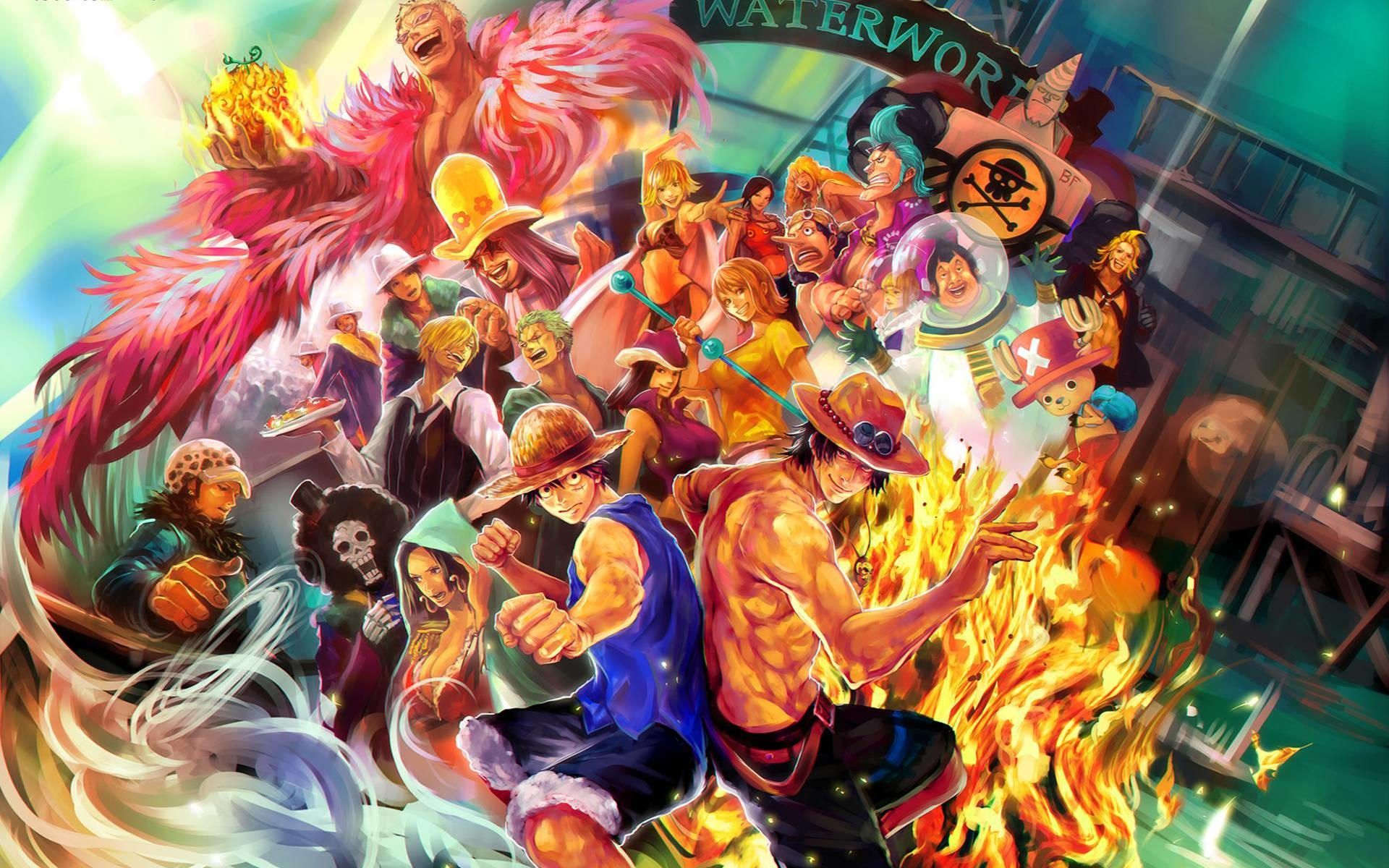 1920x1200 One Piece Images Wallpapers (36 Wallpapers)