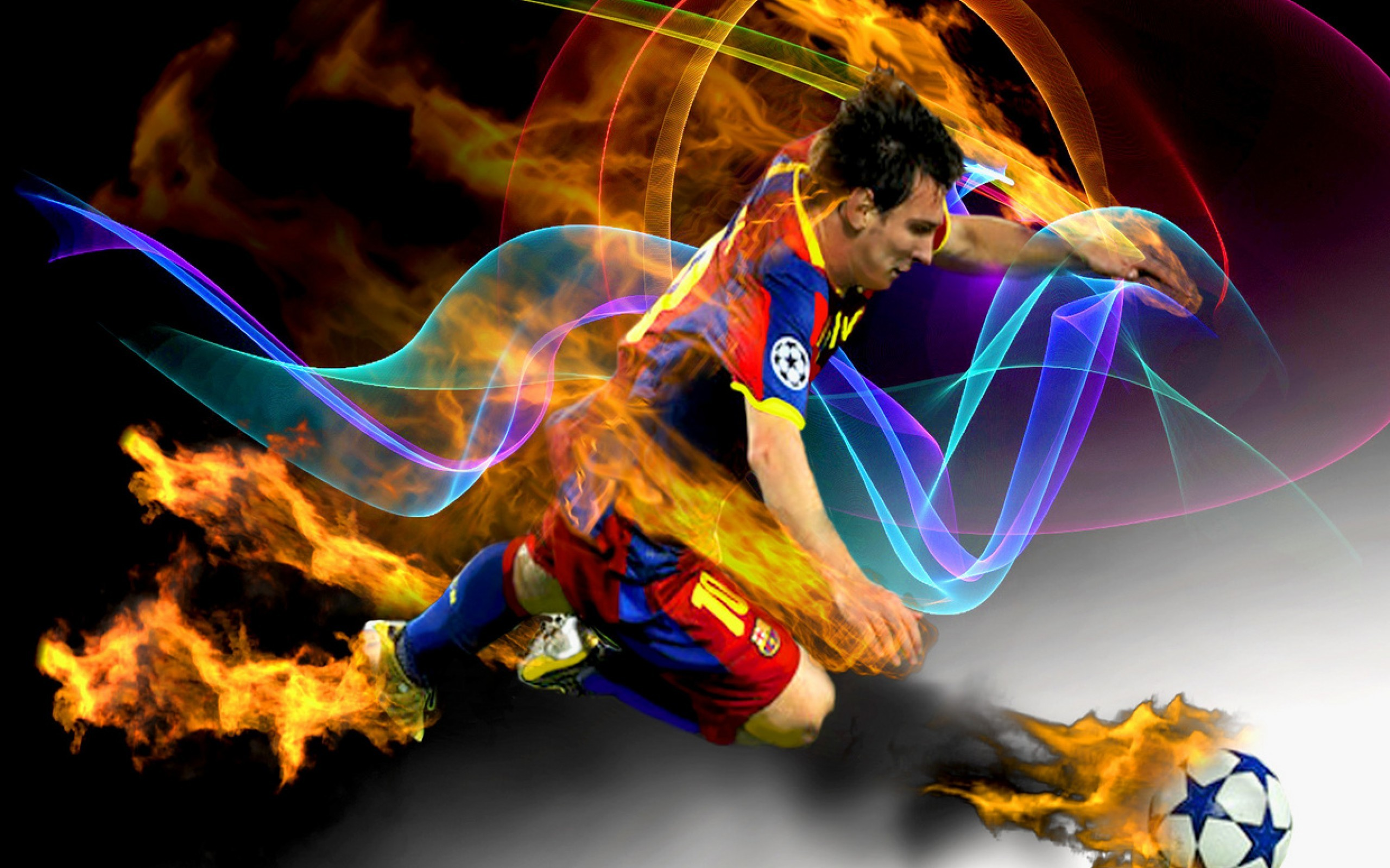 2560x1600 Messi Football Wallpapers HD