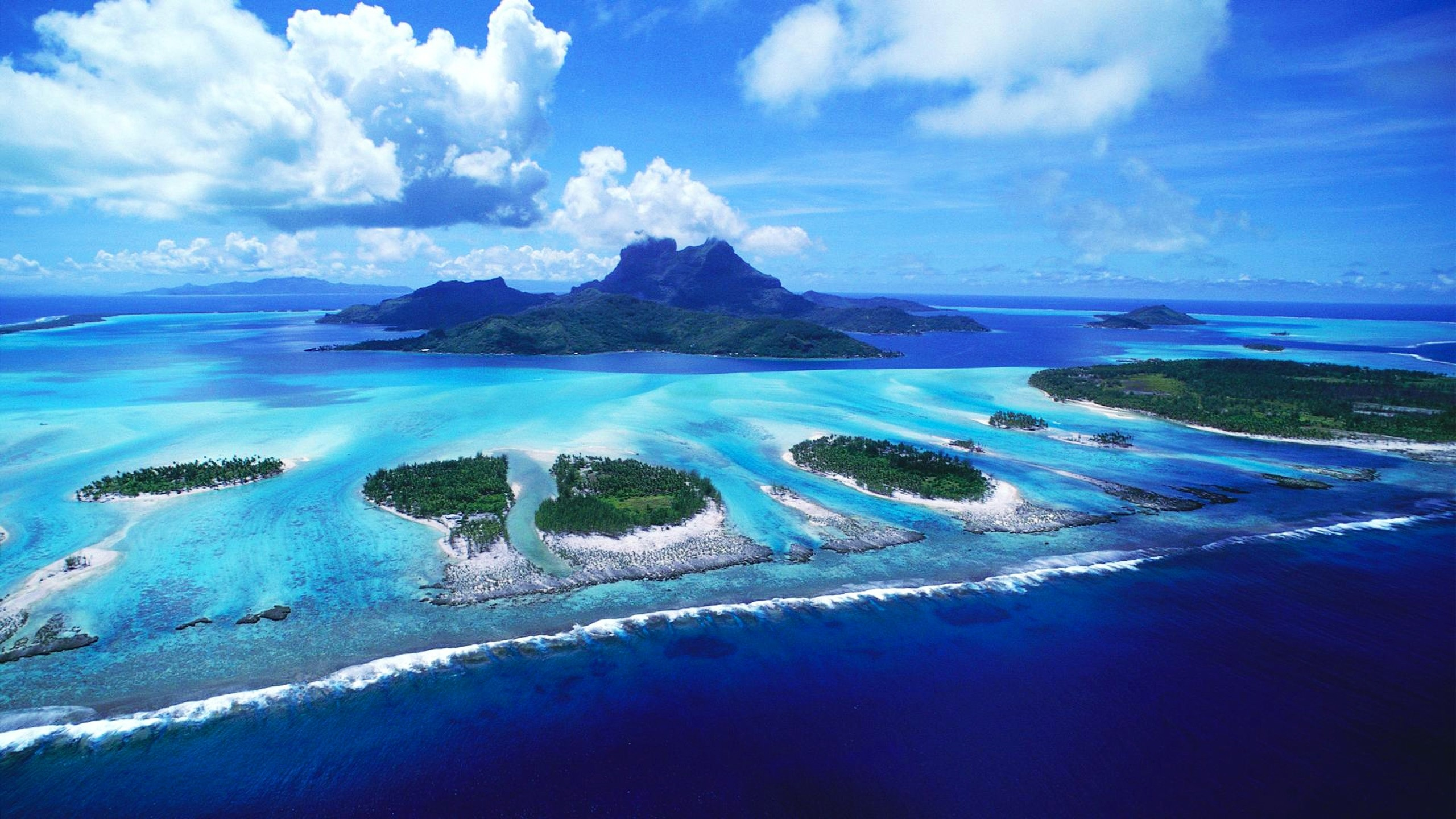 2560x1440 bora bora wallpaper widescreen - Download
