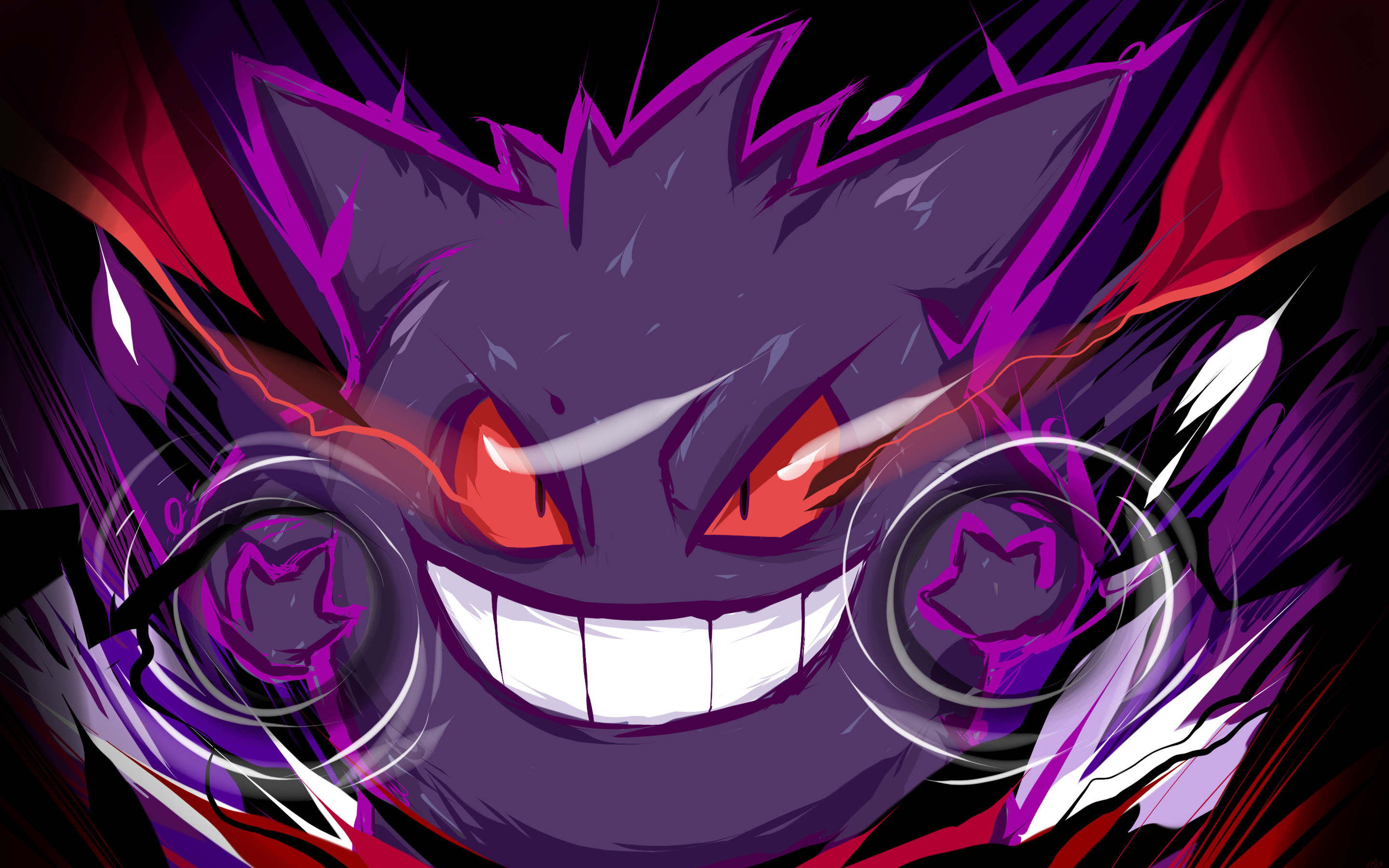 2880x1800 Gengar | Nightmare by ishmam.deviantart.com on @deviantART