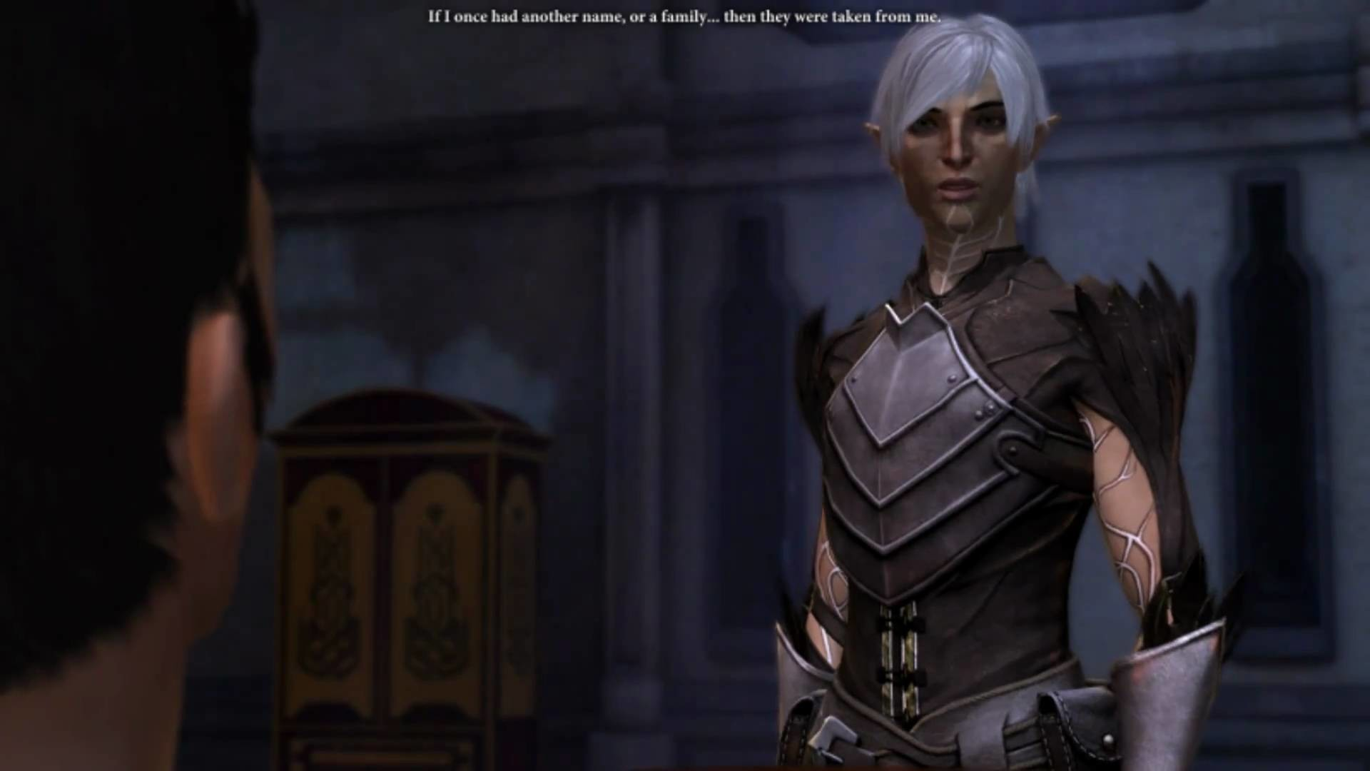 "1920x1080 Dragon Age II - ""I Like the View."" Isabela and Fenris Banter. And ""You're a  Handsome Man, Hawke."" - YouTube"