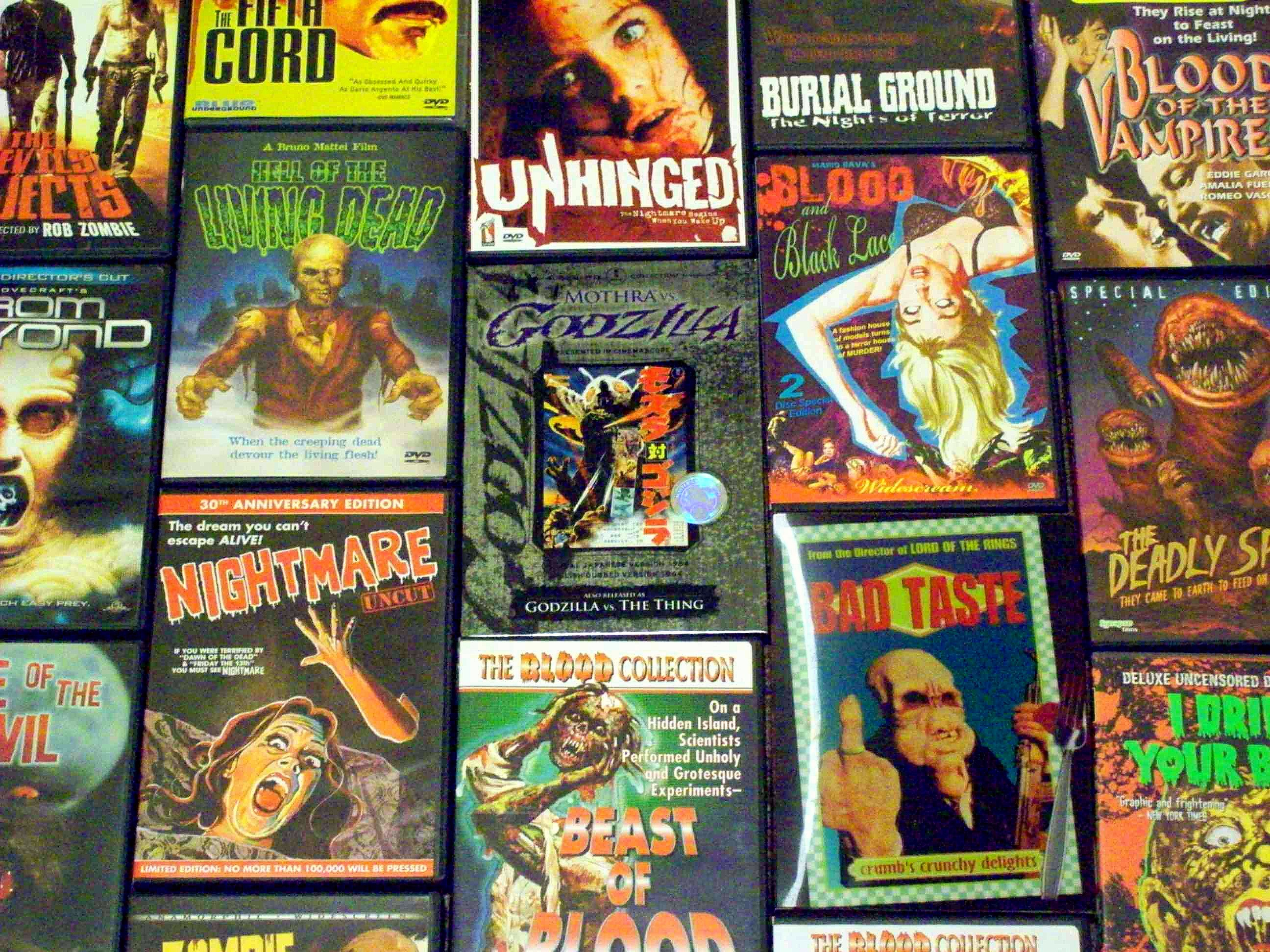2592x1944 A small but very representative sampling of my DVD collection, which runs  very heavy on