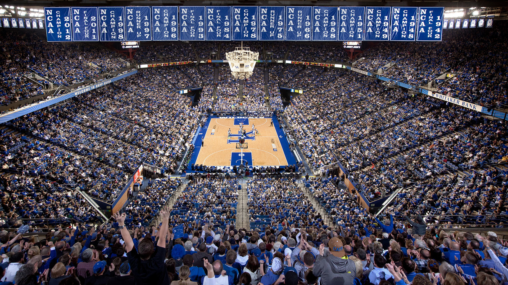 1920x1080 Aerial Kentucky Mens Basketball Desktop Wallpaper