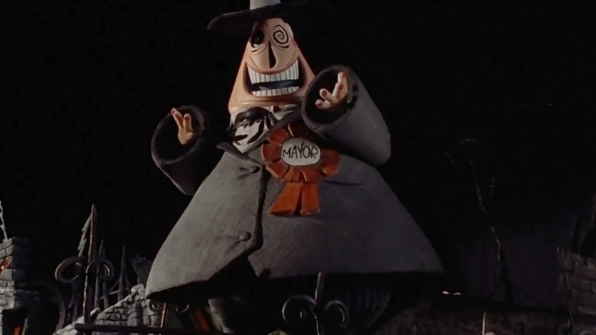 1920x1080 The Mayor of Halloweentown Nightmare Before Christmas Wallpaper