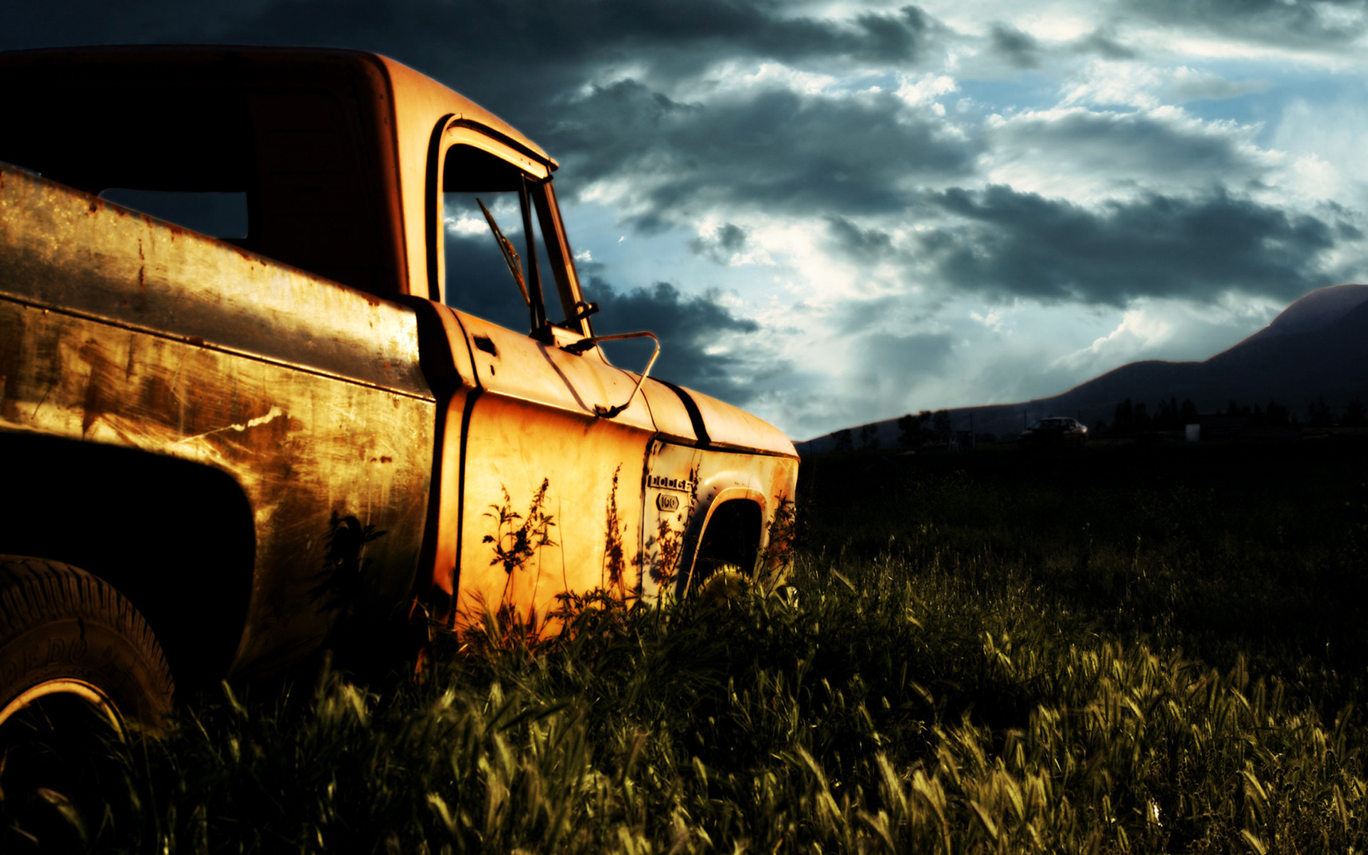 1920x1200 wallpaper.wiki-Rusty-Old-Car-Cool-Backgrounds-Wallpapers-