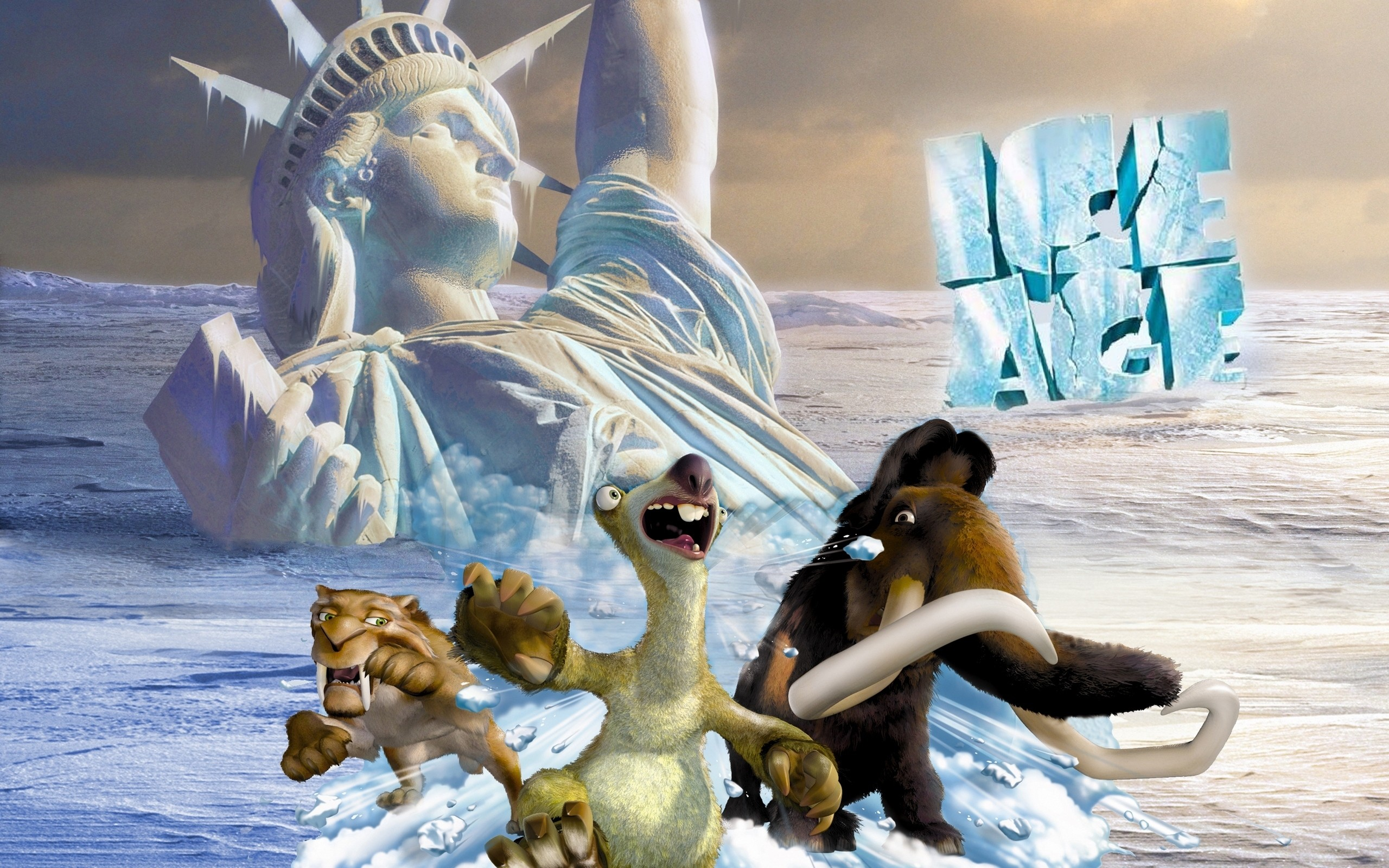 2560x1600 Movie - Ice Age: Continental Drift Wallpaper