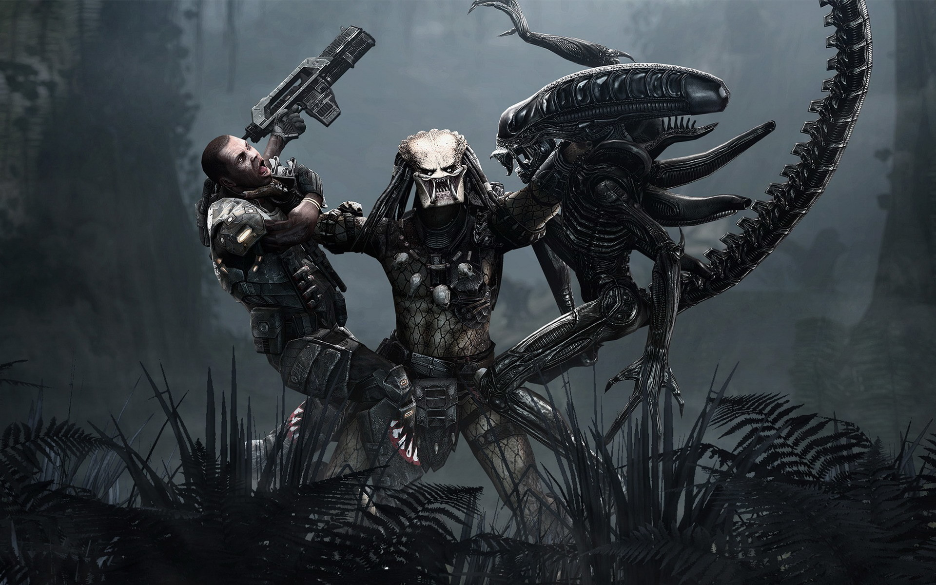 1920x1200 Alien Vs Predator Game. Backgrounds ...