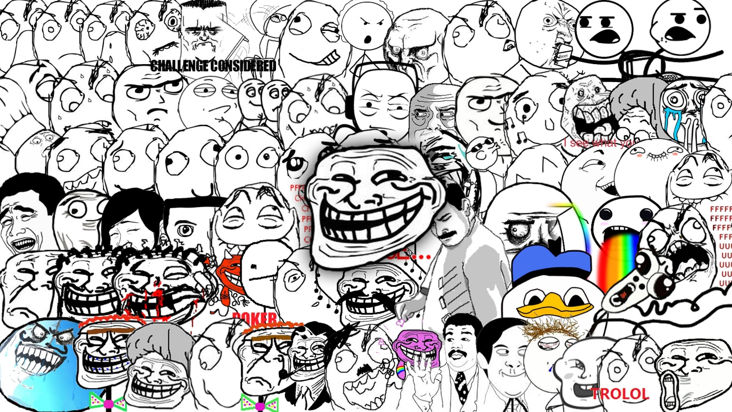 Troll face background 68 images 2048x2048 2048x2048 wallpaper trollface troll face comic humour smile teeth voltagebd Gallery