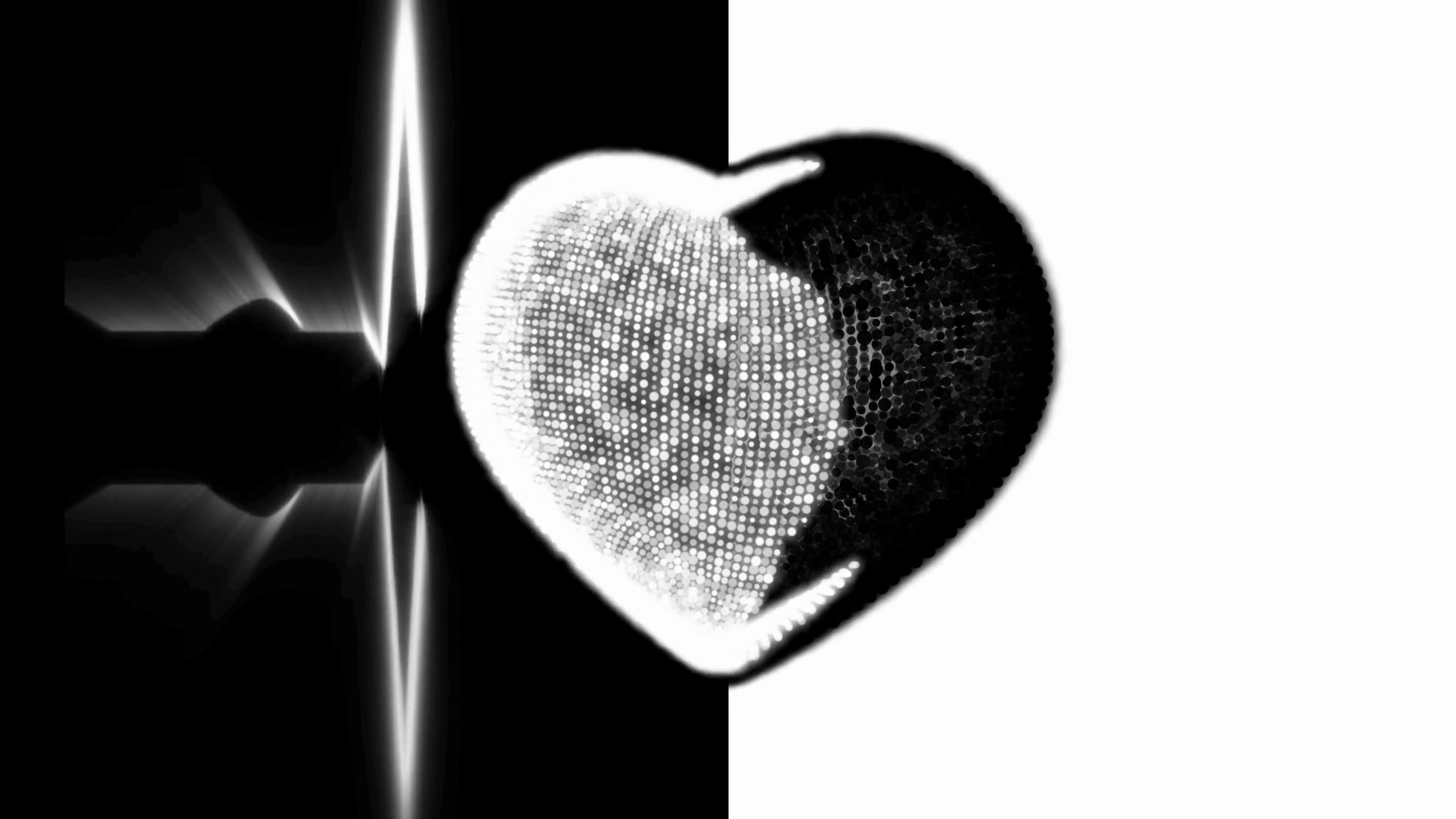 Black And White Heart Background 29 Images