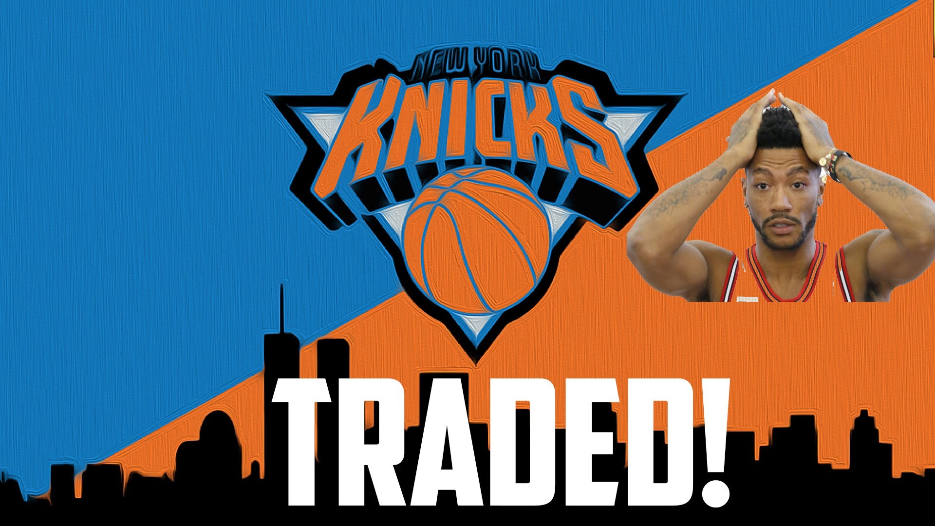 1920x1080 Derrick Rose Traded To The New York Knicks